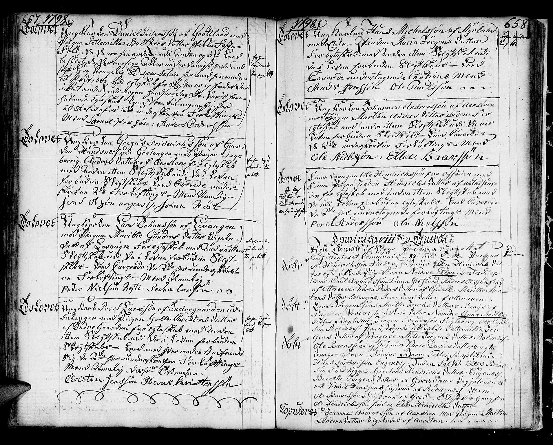 SATØ, Ibestad sokneprestembete, H/Ha/Haa/L0003kirke: Ministerialbok nr. 3, 1776-1801, s. 657-658