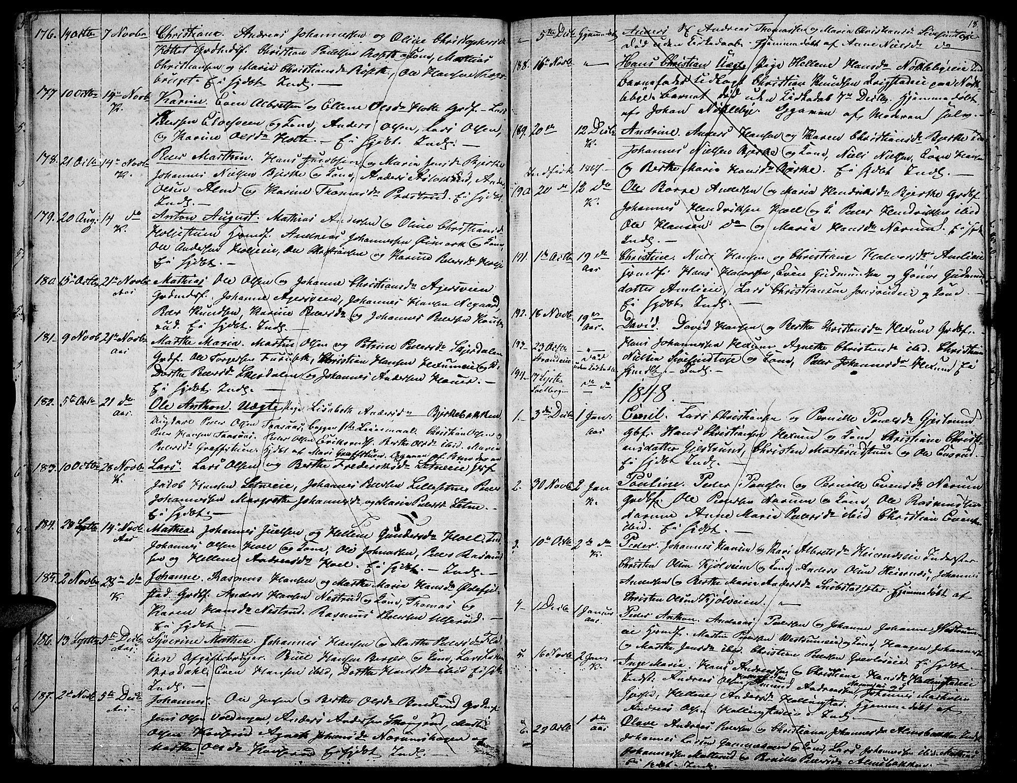 SAH, Vestre Toten prestekontor, Klokkerbok nr. 3, 1846-1854, s. 18