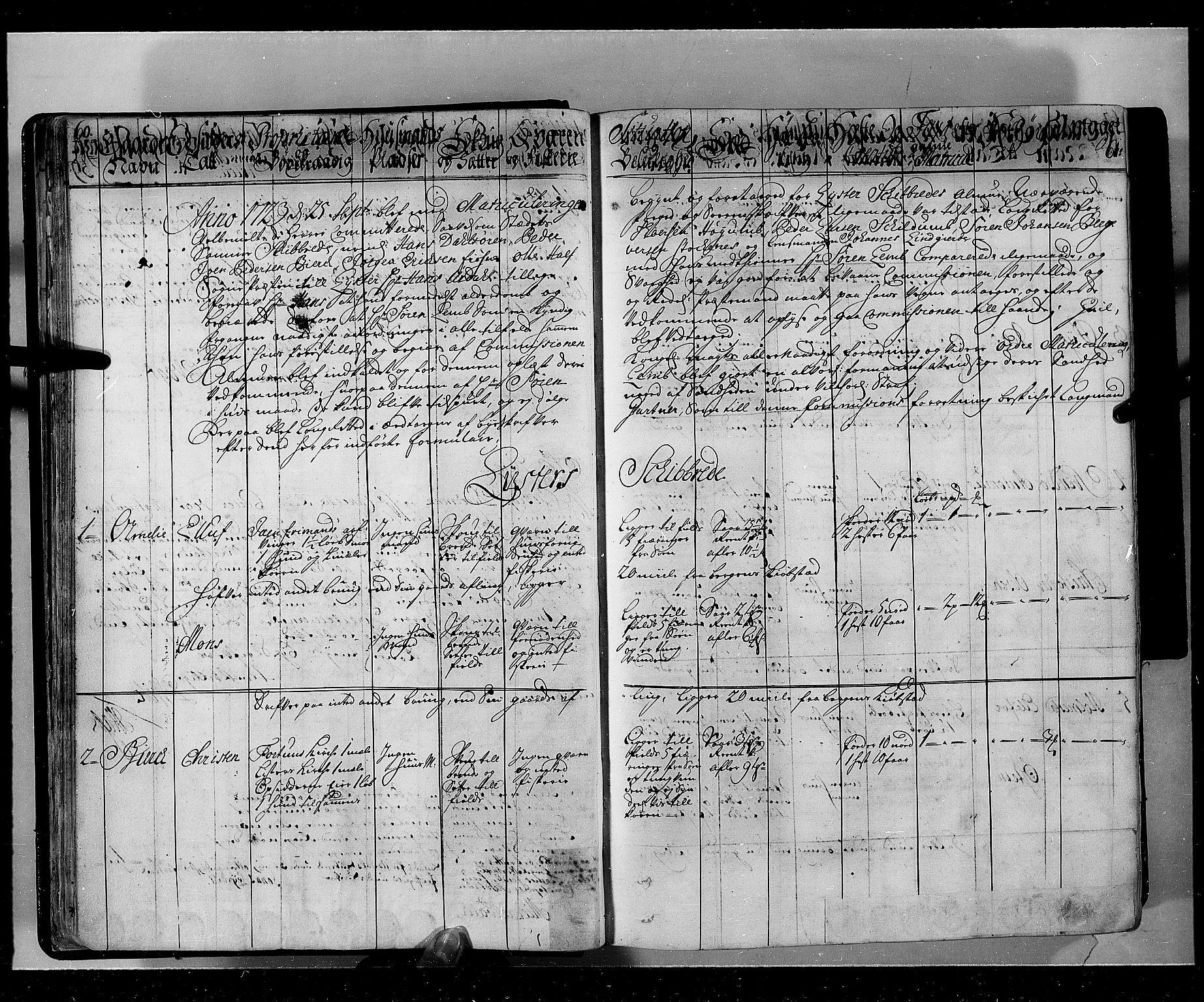 RA, Rentekammeret inntil 1814, Realistisk ordnet avdeling, N/Nb/Nbf/L0143: Ytre og Indre Sogn eksaminasjonsprotokoll, 1723, s. 60-61