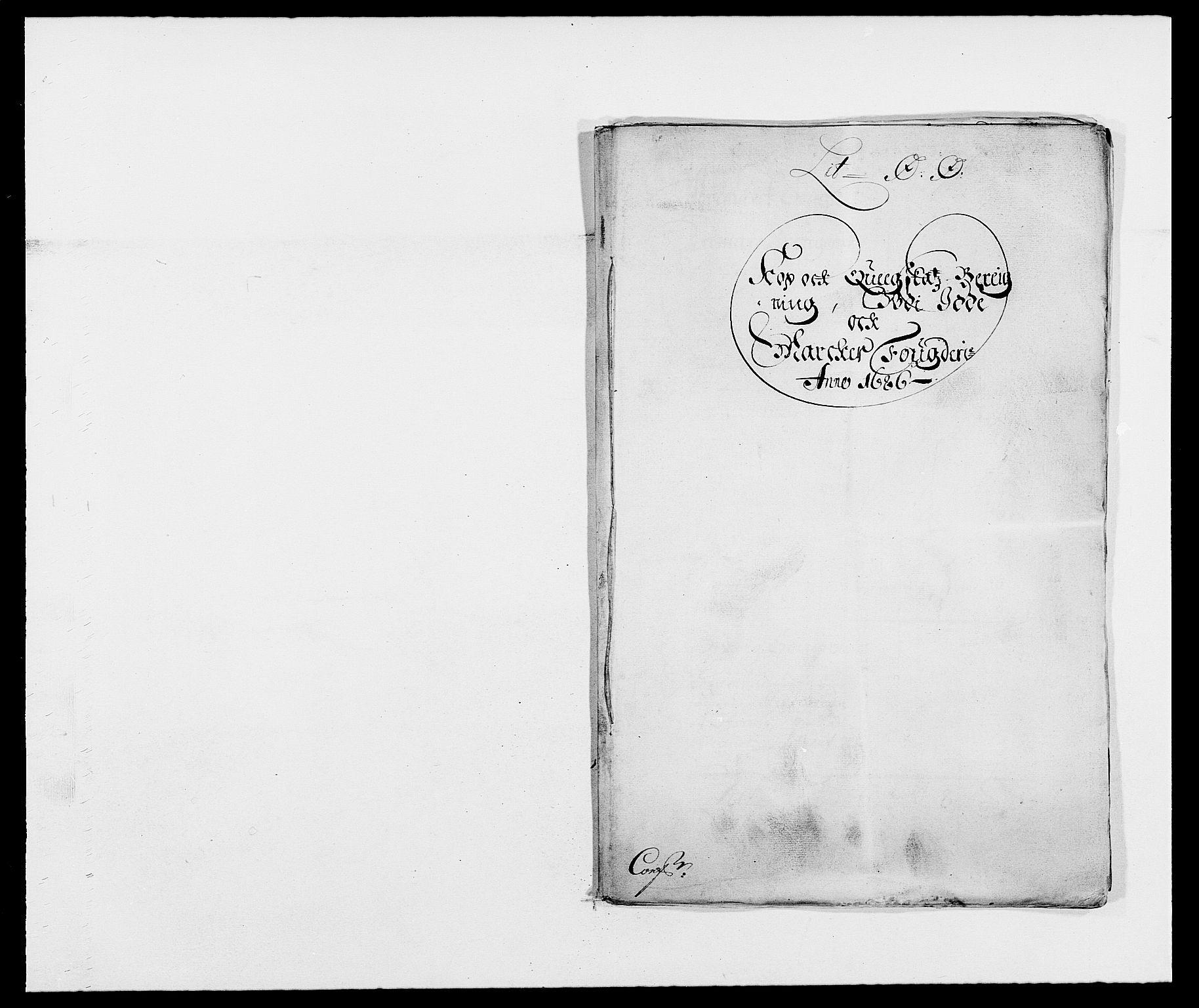 RA, Rentekammeret inntil 1814, Reviderte regnskaper, Fogderegnskap, R01/L0006: Fogderegnskap Idd og Marker, 1685-1686, s. 366