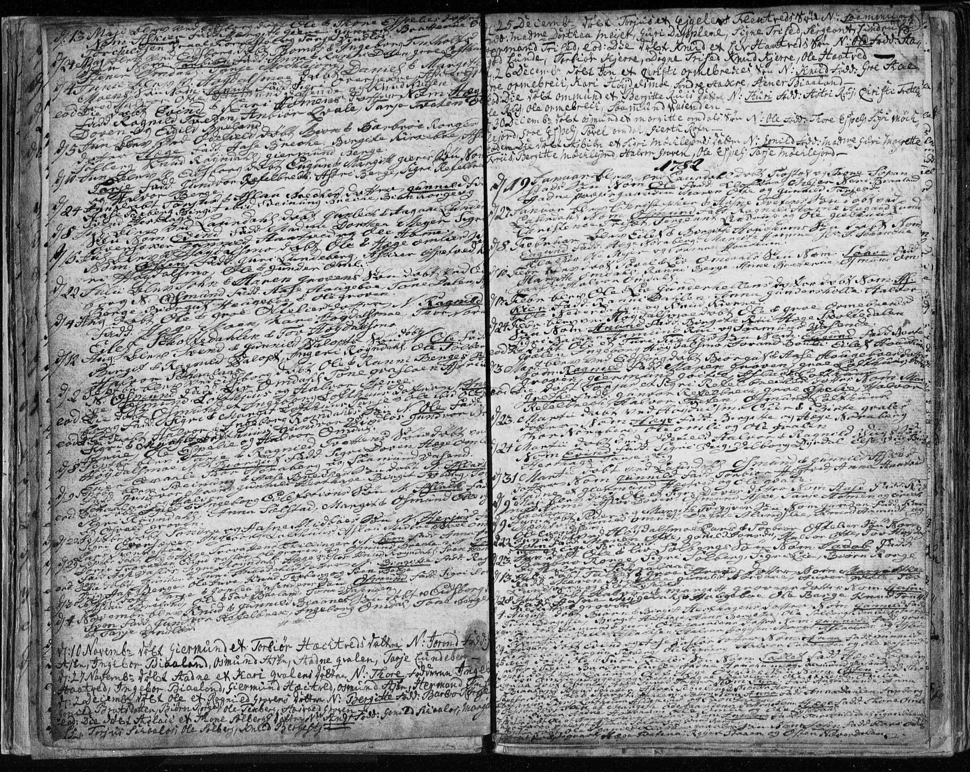 SAKO, Lårdal kirkebøker, F/Fa/L0003: Ministerialbok nr. I 3, 1754-1790, s. 27