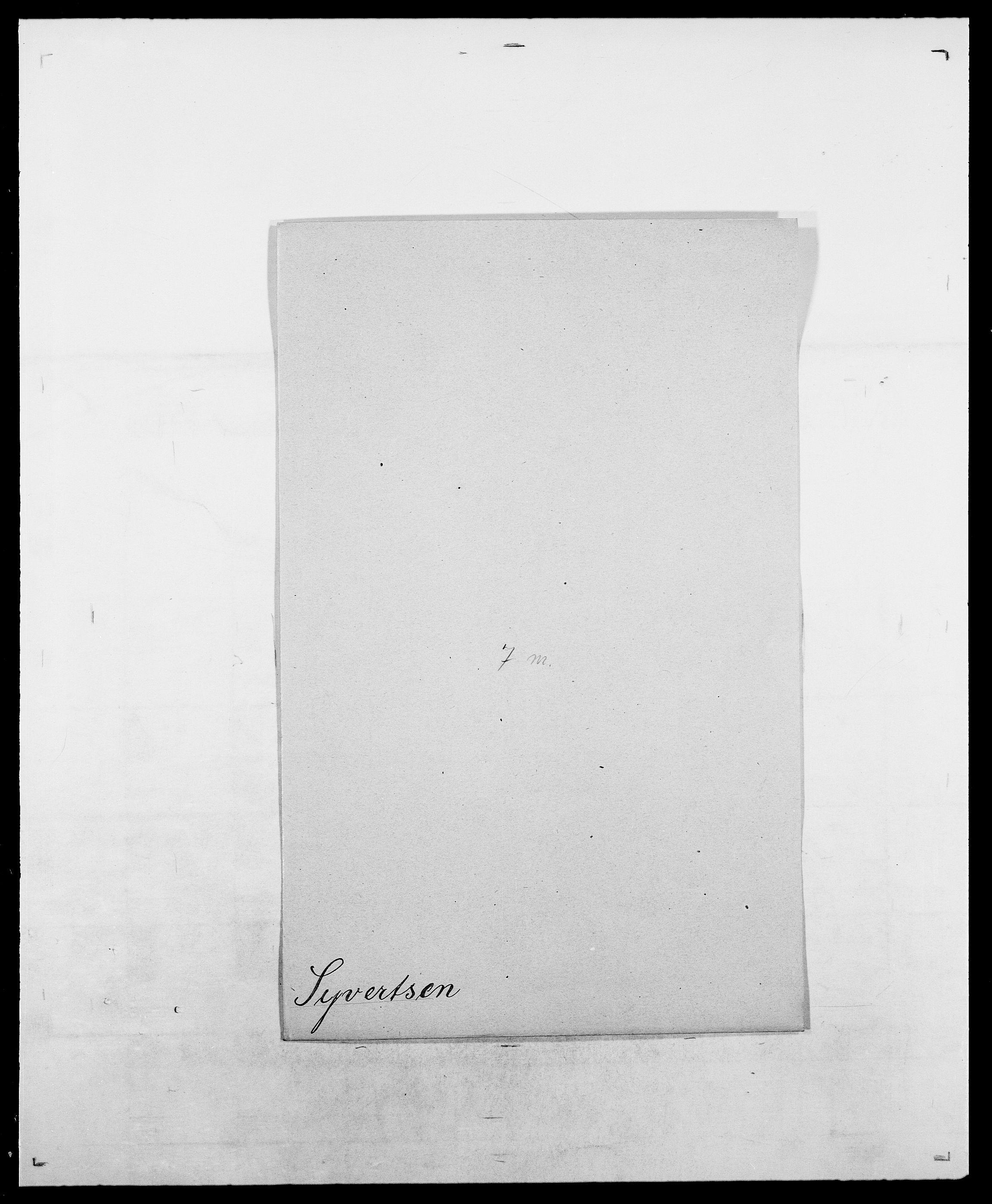 SAO, Delgobe, Charles Antoine - samling, D/Da/L0038: Svanenskjold - Thornsohn, s. 112