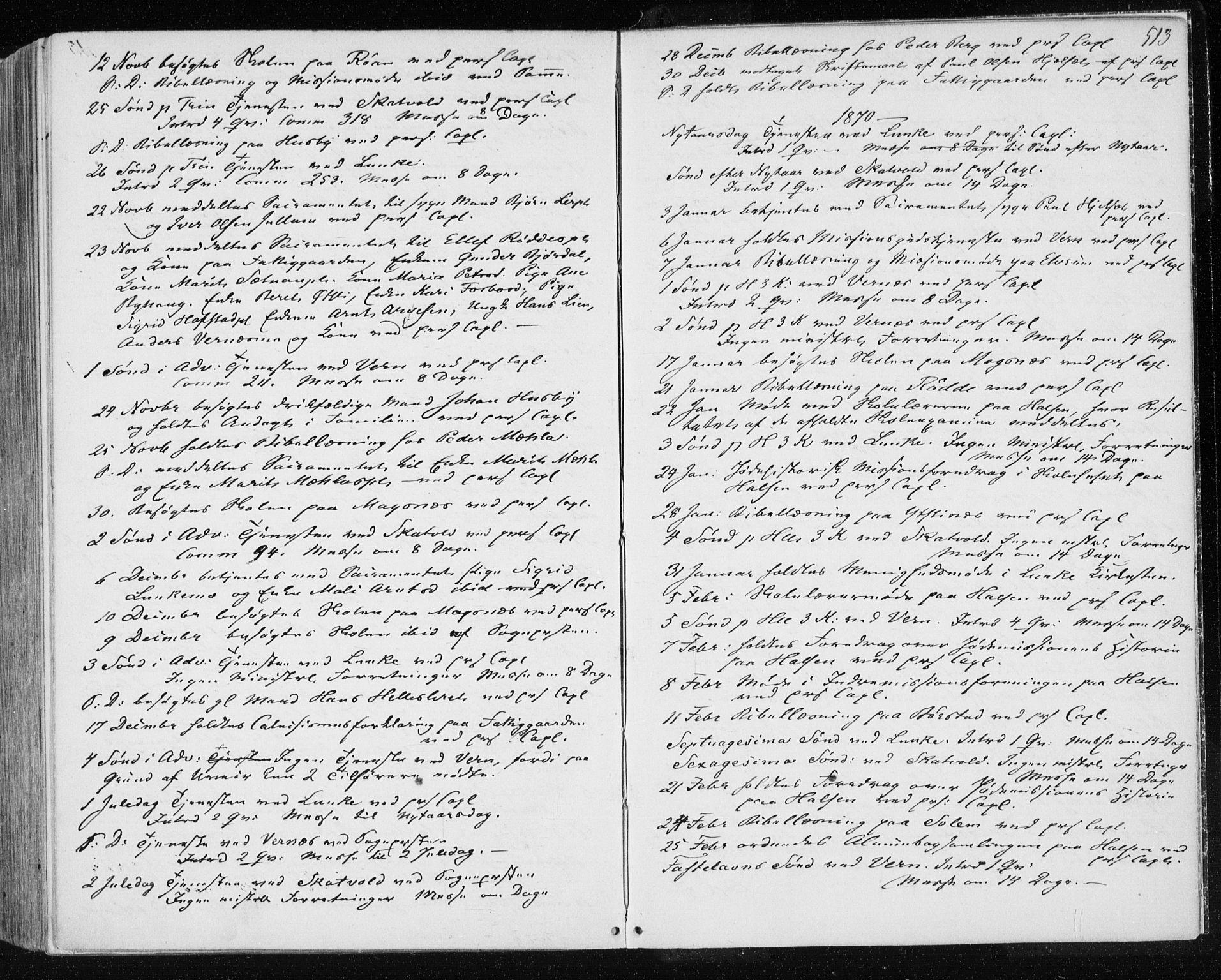 SAT, Ministerialprotokoller, klokkerbøker og fødselsregistre - Nord-Trøndelag, 709/L0075: Ministerialbok nr. 709A15, 1859-1870, s. 513