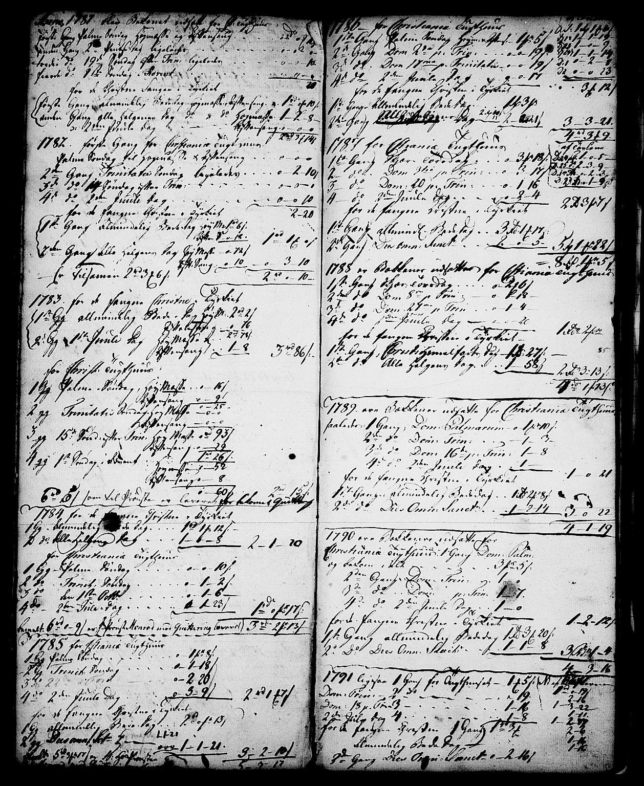 SAKO, Skien kirkebøker, G/Ga/L0001: Klokkerbok nr. 1, 1756-1791, s. 59