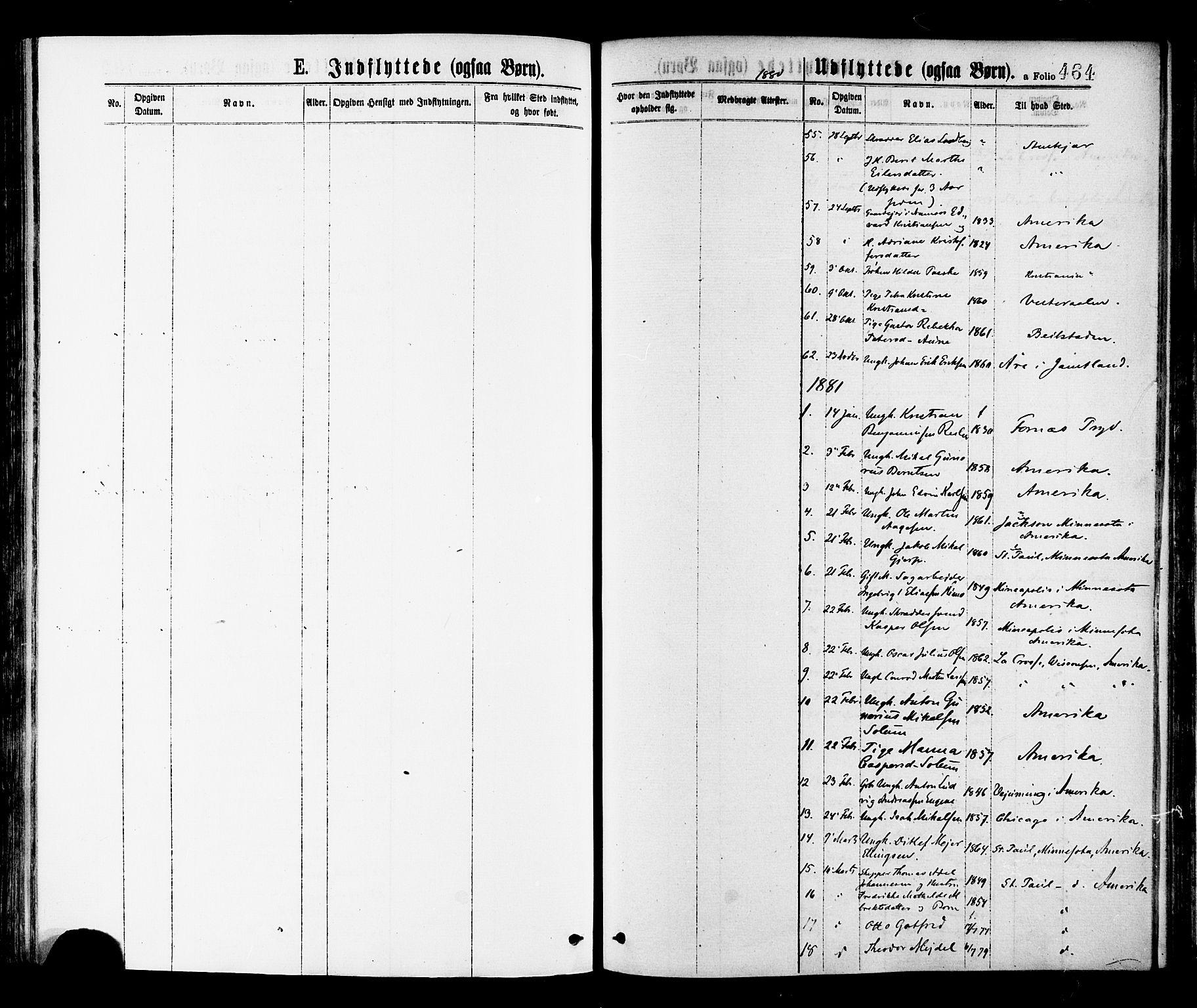 SAT, Ministerialprotokoller, klokkerbøker og fødselsregistre - Nord-Trøndelag, 768/L0572: Ministerialbok nr. 768A07, 1874-1886, s. 464