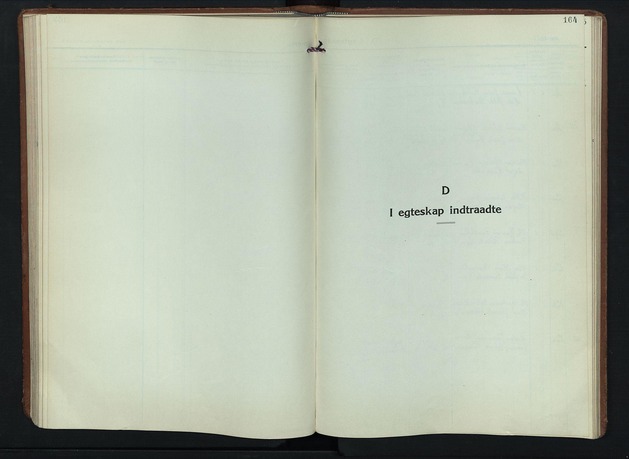 SAH, Sel prestekontor, Klokkerbok nr. 6, 1923-1953, s. 164