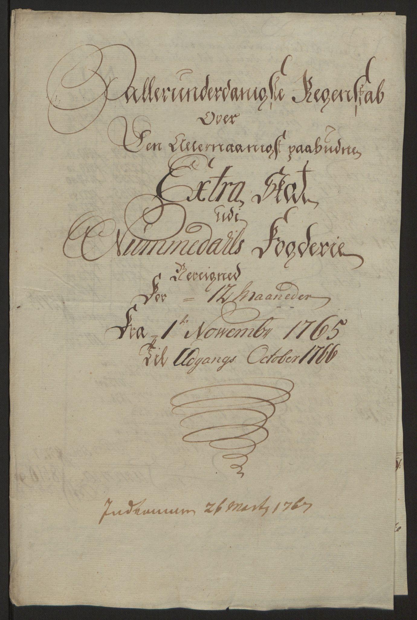 RA, Rentekammeret inntil 1814, Reviderte regnskaper, Fogderegnskap, R64/L4502: Ekstraskatten Namdal, 1762-1772, s. 213