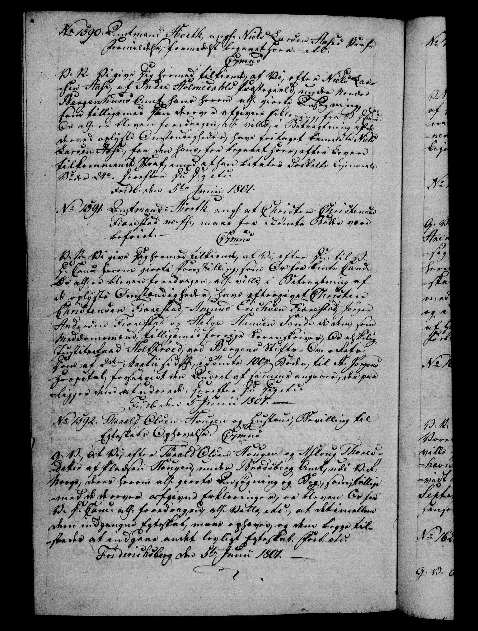 RA, Danske Kanselli 1800-1814, H/Hf/Hfb/Hfba/L0001: Registranter, 1800-1801, s. 480b