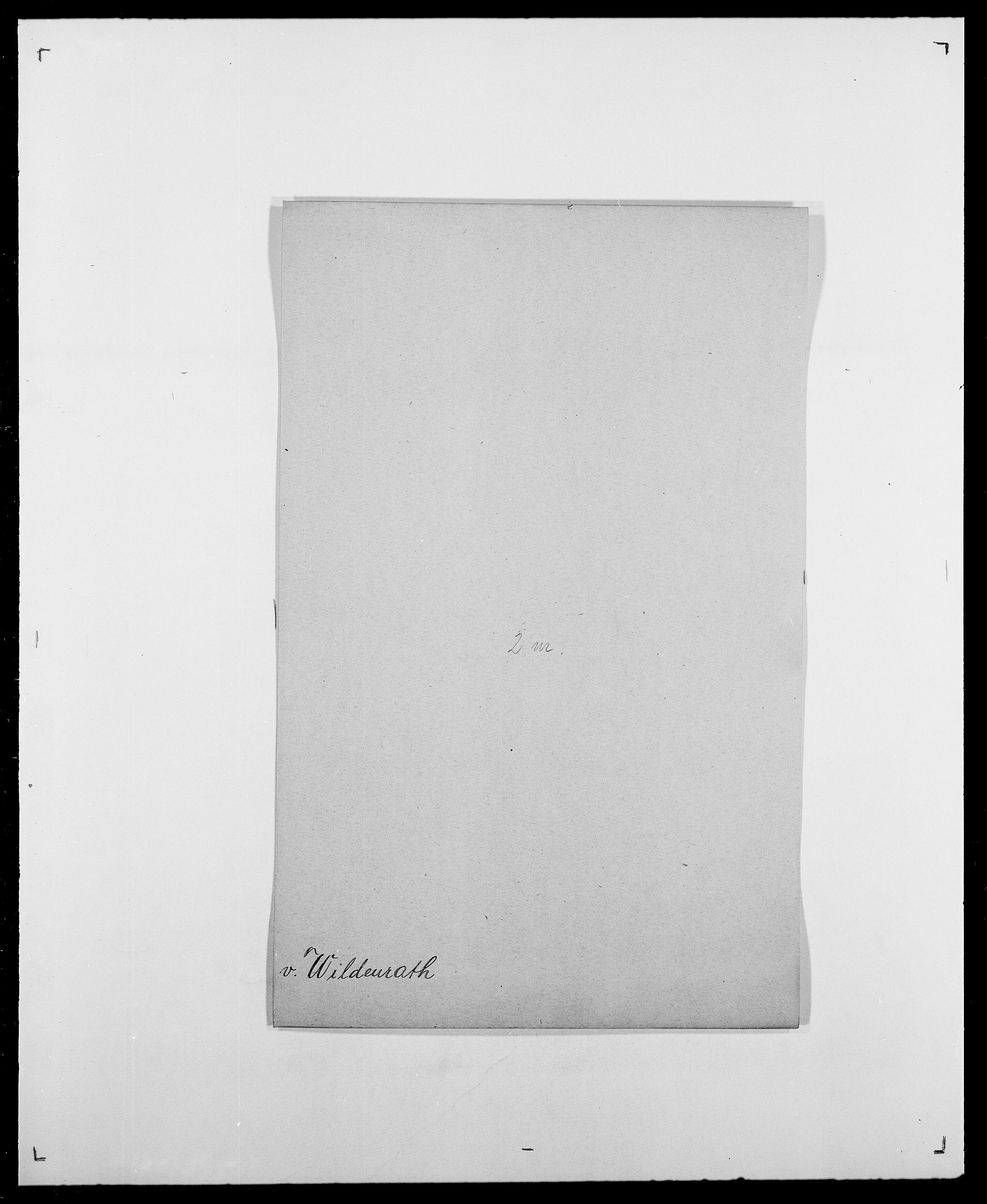 SAO, Delgobe, Charles Antoine - samling, D/Da/L0042: Vilain - Wulf, Wulff, se også Wolf, s. 17