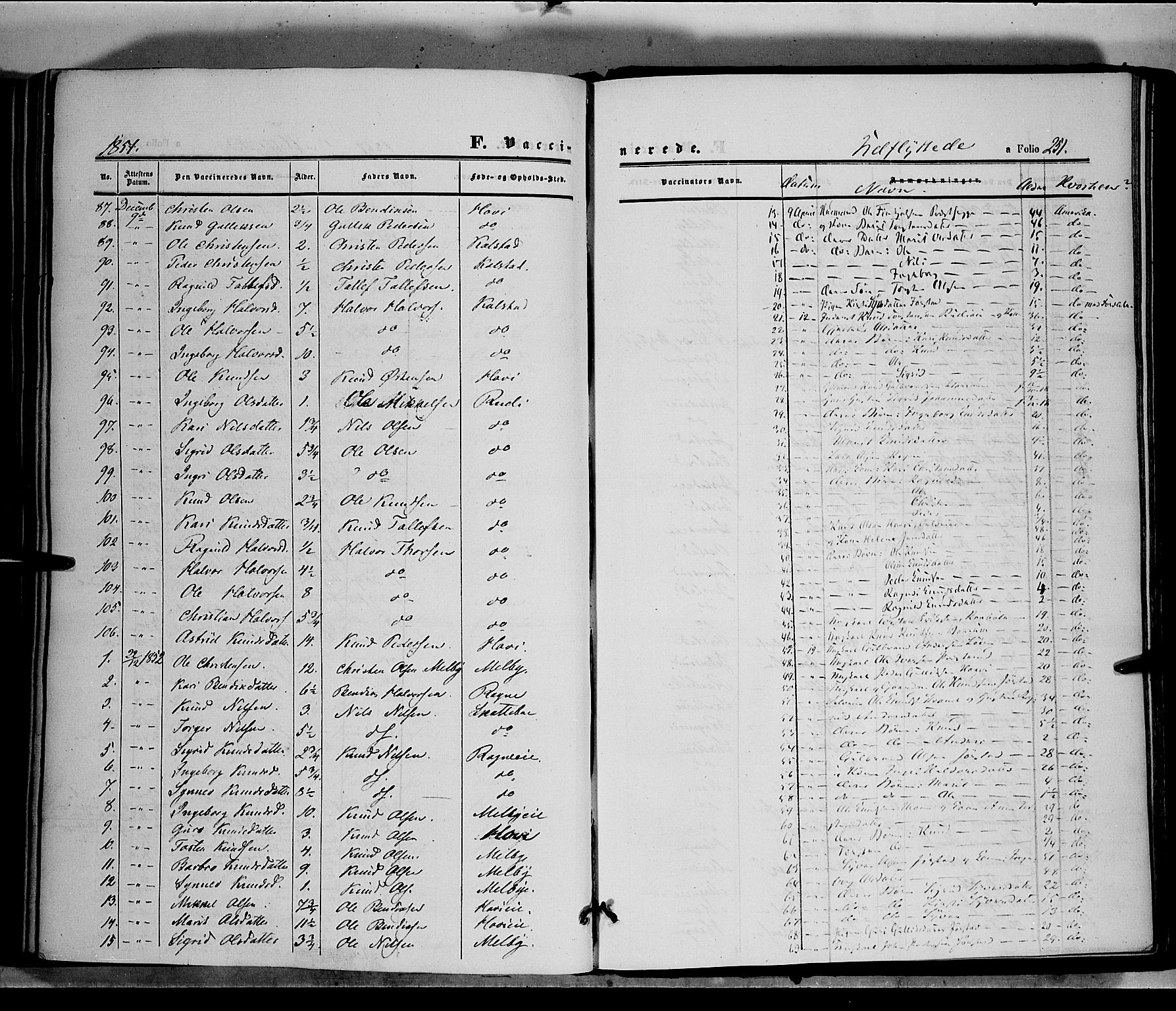SAH, Øystre Slidre prestekontor, Ministerialbok nr. 1, 1849-1874, s. 251