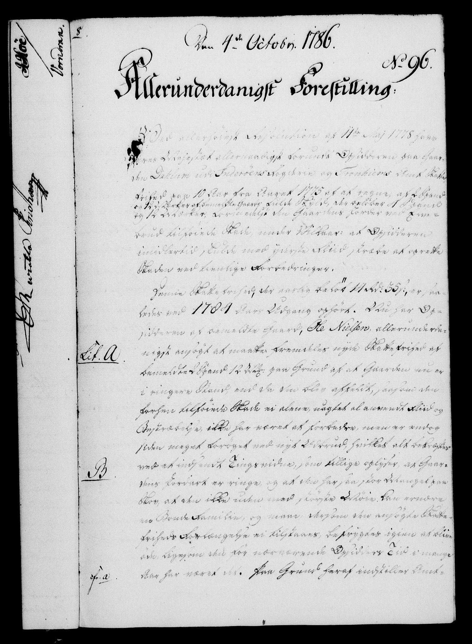RA, Rentekammeret, Kammerkanselliet, G/Gf/Gfa/L0068: Norsk relasjons- og resolusjonsprotokoll (merket RK 52.68), 1786, s. 832