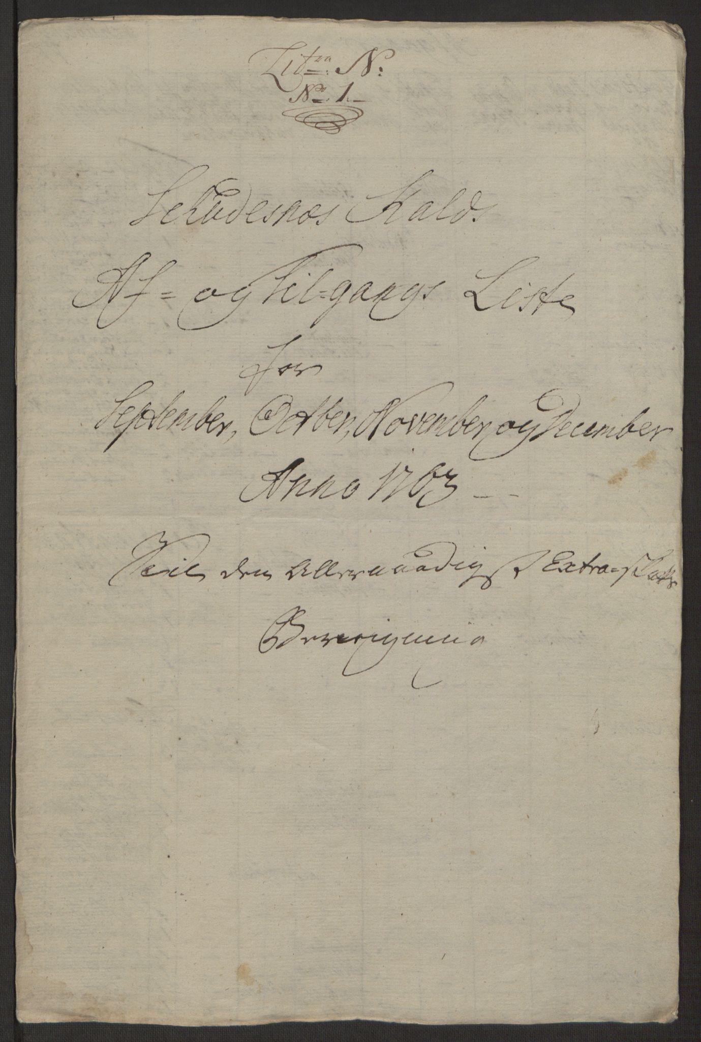 RA, Rentekammeret inntil 1814, Realistisk ordnet avdeling, Ol/L0016b: [Gg 10]: Ekstraskatten, 23.09.1762. Ryfylke, 1764-1768, s. 234