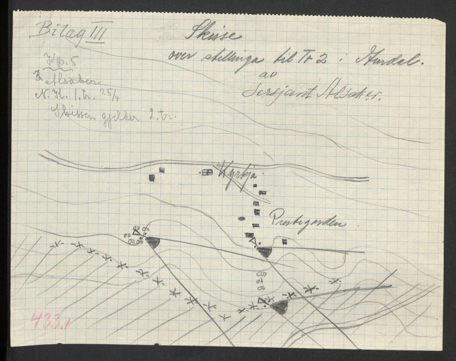 RA, Forsvaret, Forsvarets krigshistoriske avdeling, Y/Yb/L0104: II-C-11-430  -  4. Divisjon., 1940, s. 215
