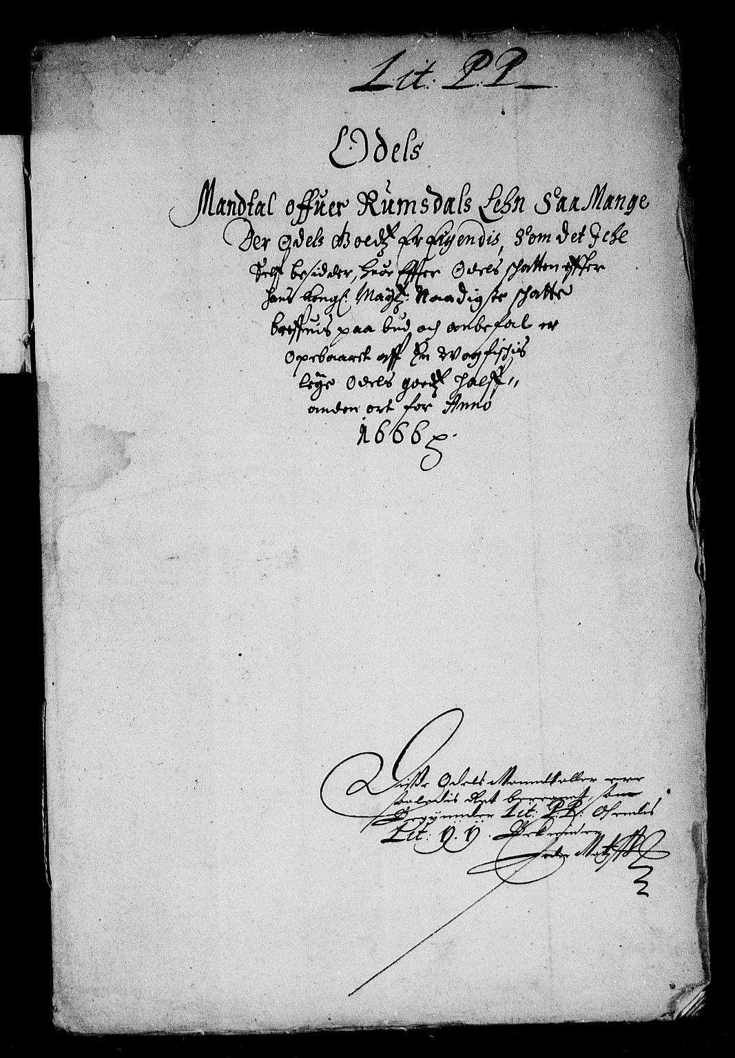 RA, Rentekammeret inntil 1814, Reviderte regnskaper, Stiftamtstueregnskaper, Trondheim stiftamt og Nordland amt, R/Rd/L0018: Trondheim stiftamt, 1666