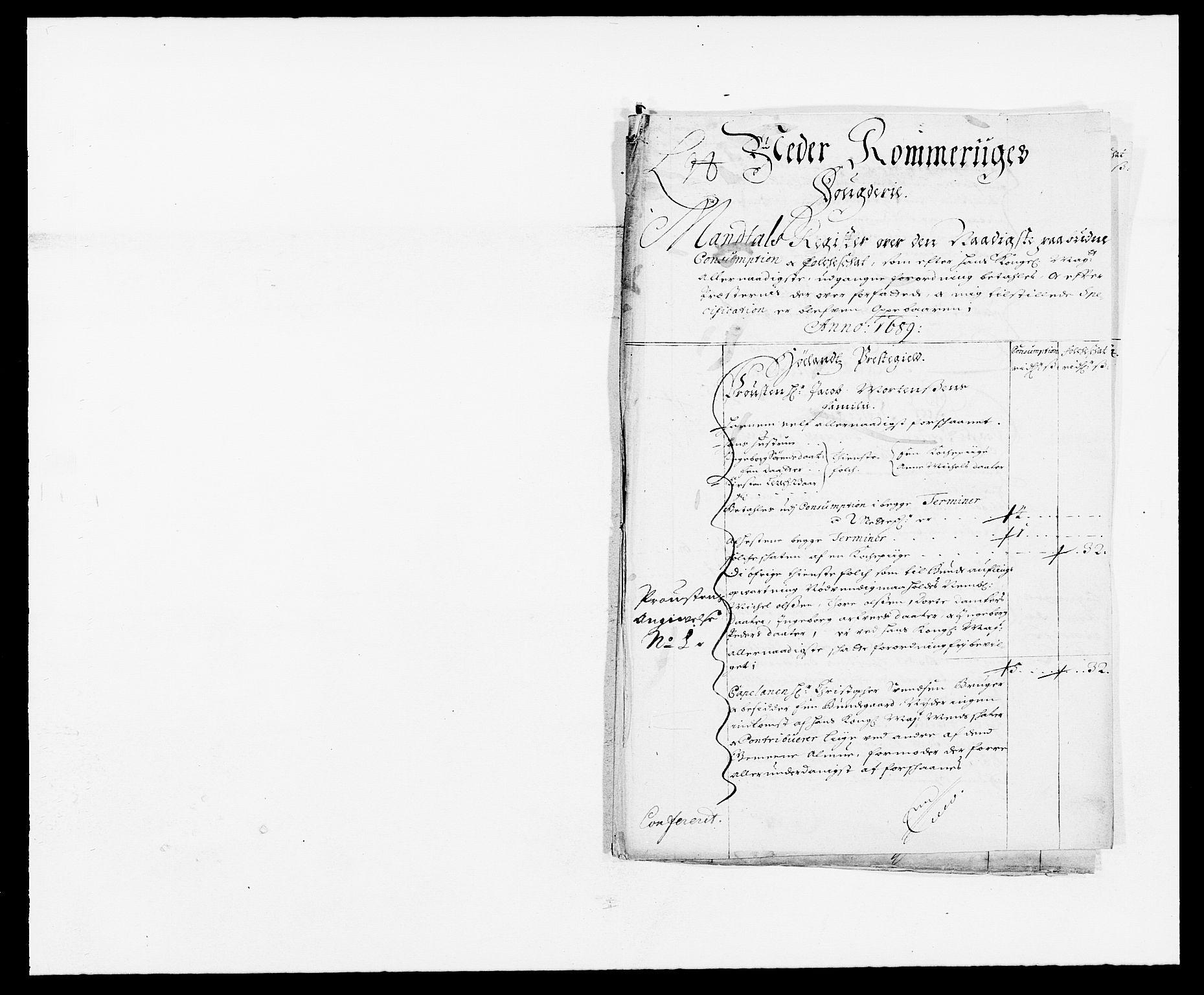 RA, Rentekammeret inntil 1814, Reviderte regnskaper, Fogderegnskap, R11/L0574: Fogderegnskap Nedre Romerike, 1689-1690, s. 106