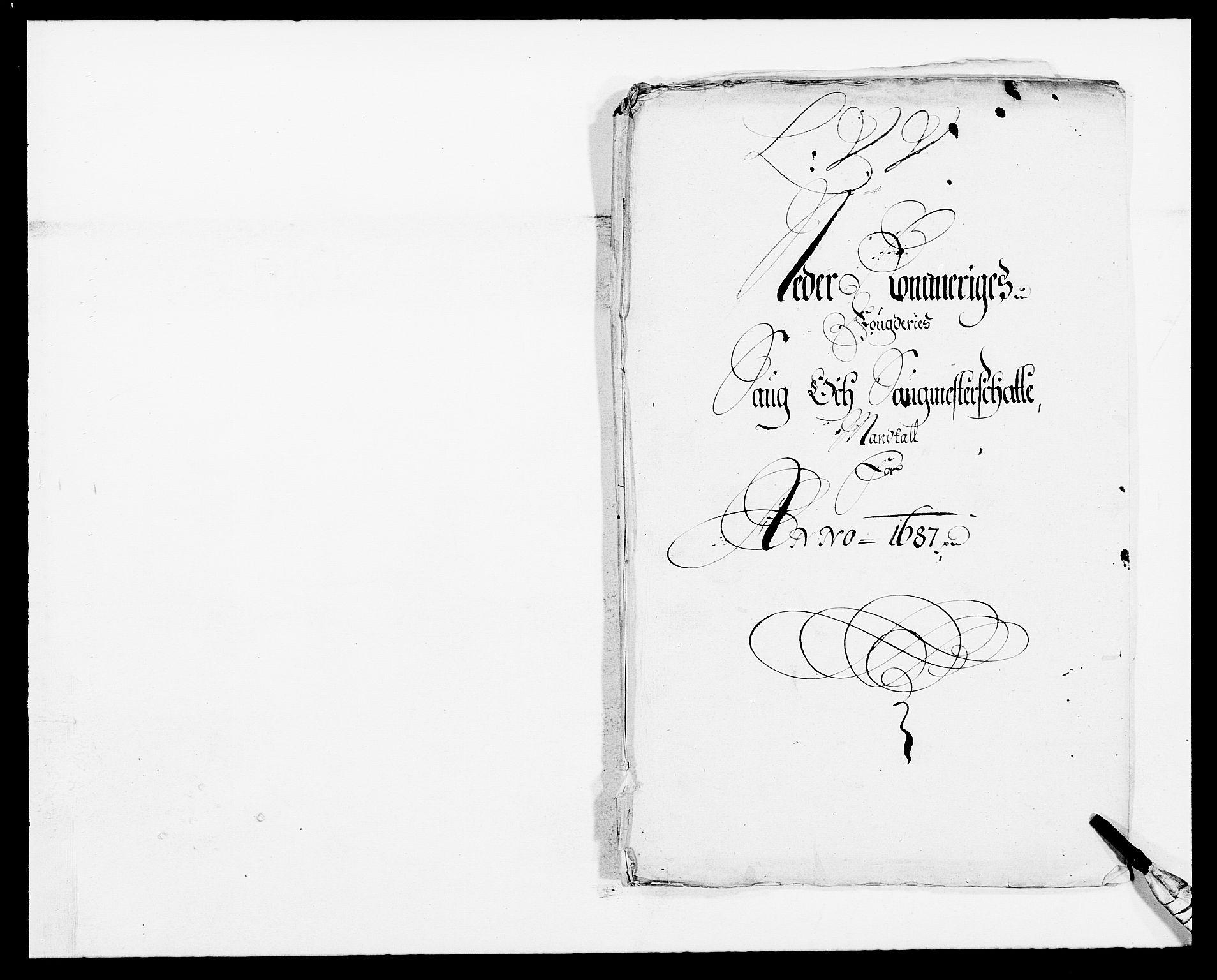 RA, Rentekammeret inntil 1814, Reviderte regnskaper, Fogderegnskap, R11/L0572: Fogderegnskap Nedre Romerike, 1686-1687, s. 302
