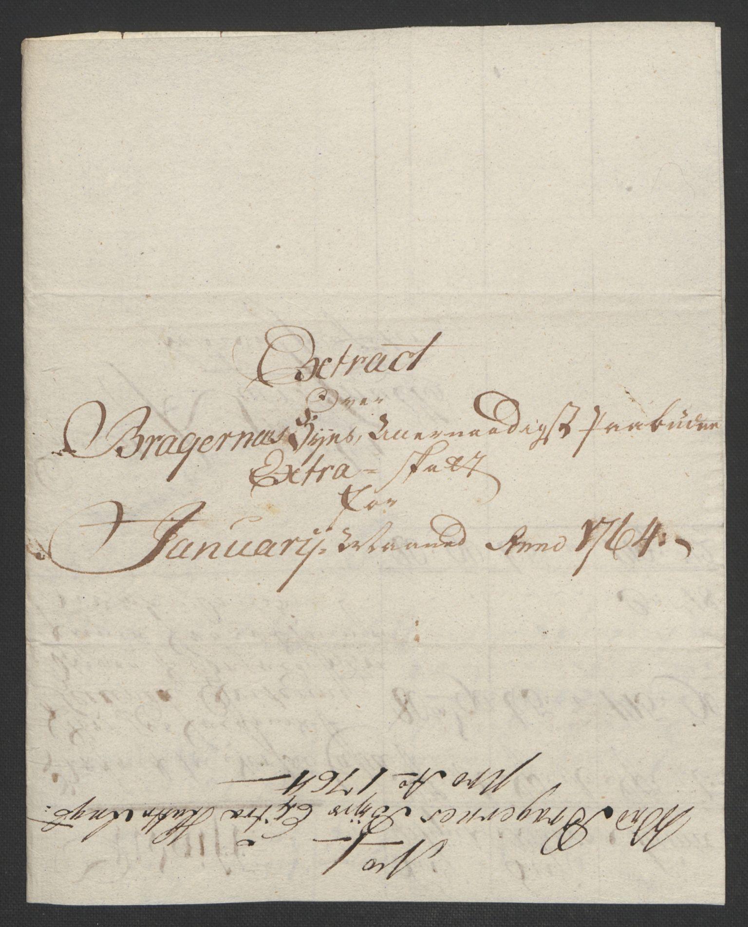 RA, Rentekammeret inntil 1814, Reviderte regnskaper, Byregnskaper, R/Rf/L0119: [F2] Kontribusjonsregnskap, 1762-1767, s. 177