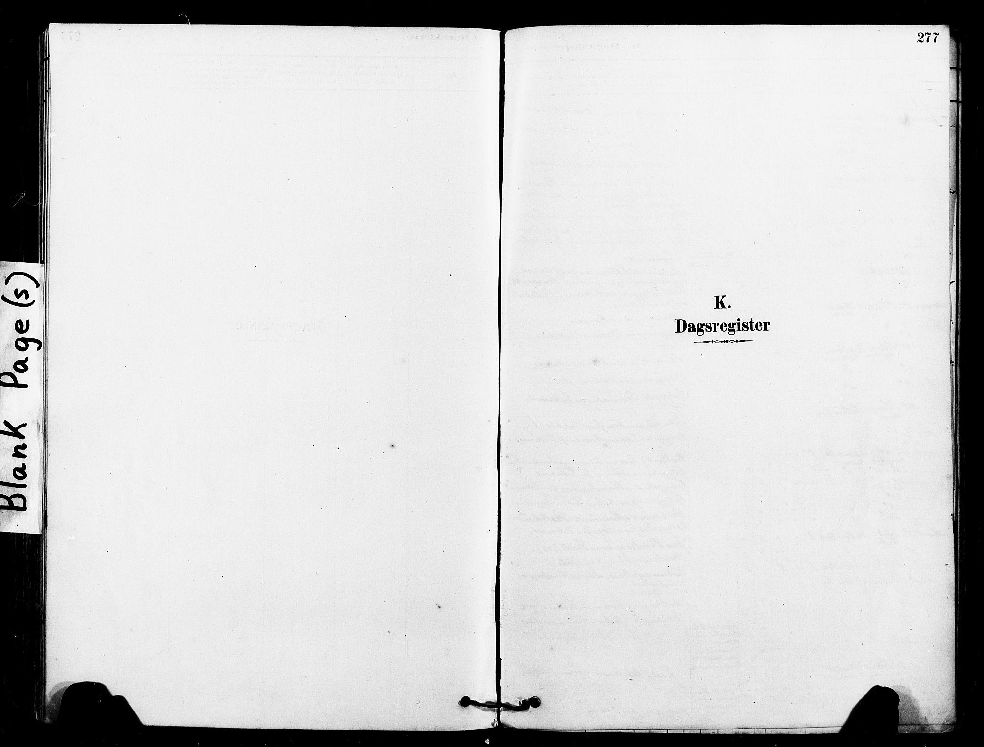 SAT, Ministerialprotokoller, klokkerbøker og fødselsregistre - Sør-Trøndelag, 640/L0578: Ministerialbok nr. 640A03, 1879-1889, s. 277