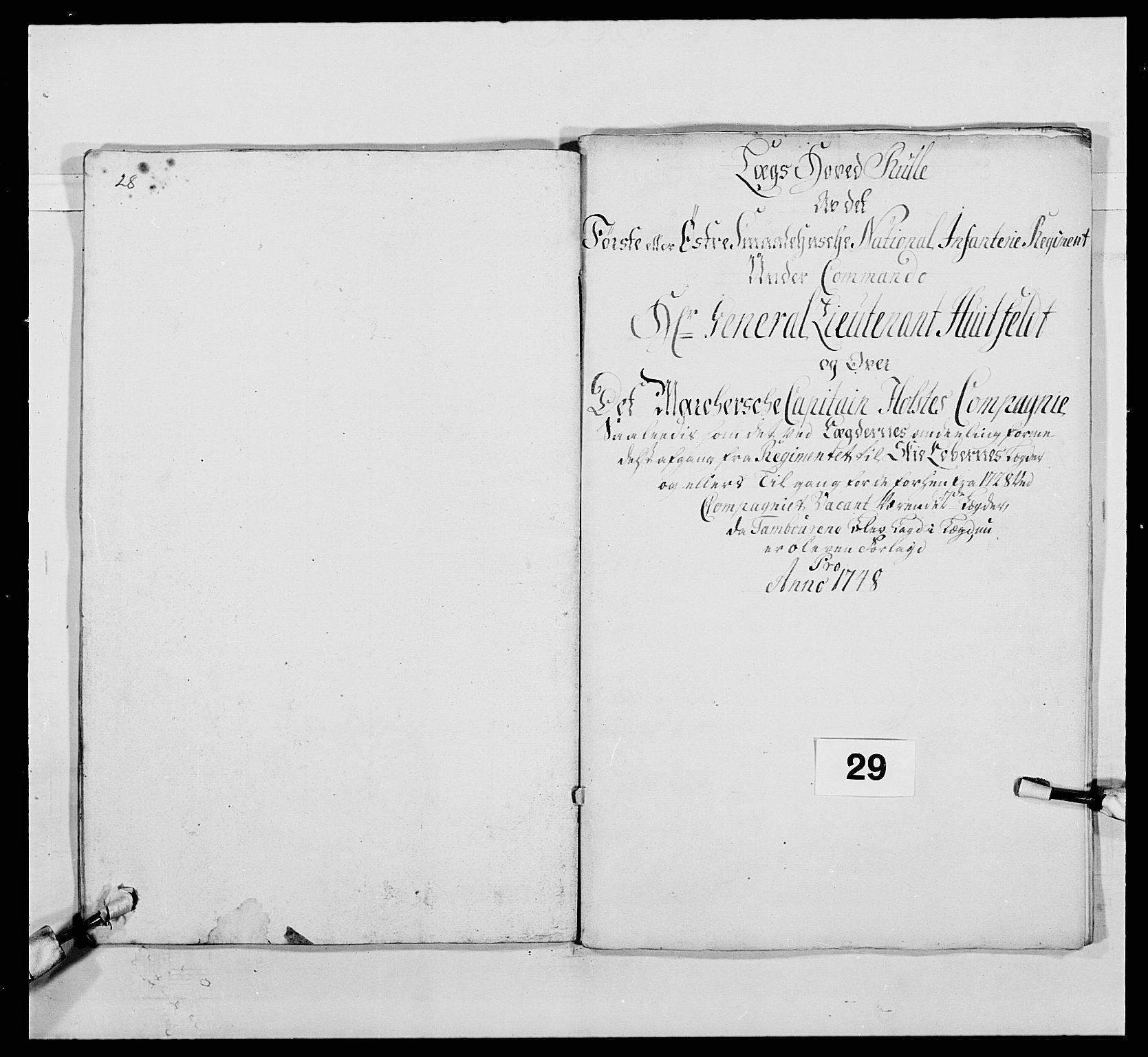 RA, Kommanderende general (KG I) med Det norske krigsdirektorium, E/Ea/L0495: 1. Smålenske regiment, 1732-1763, s. 449