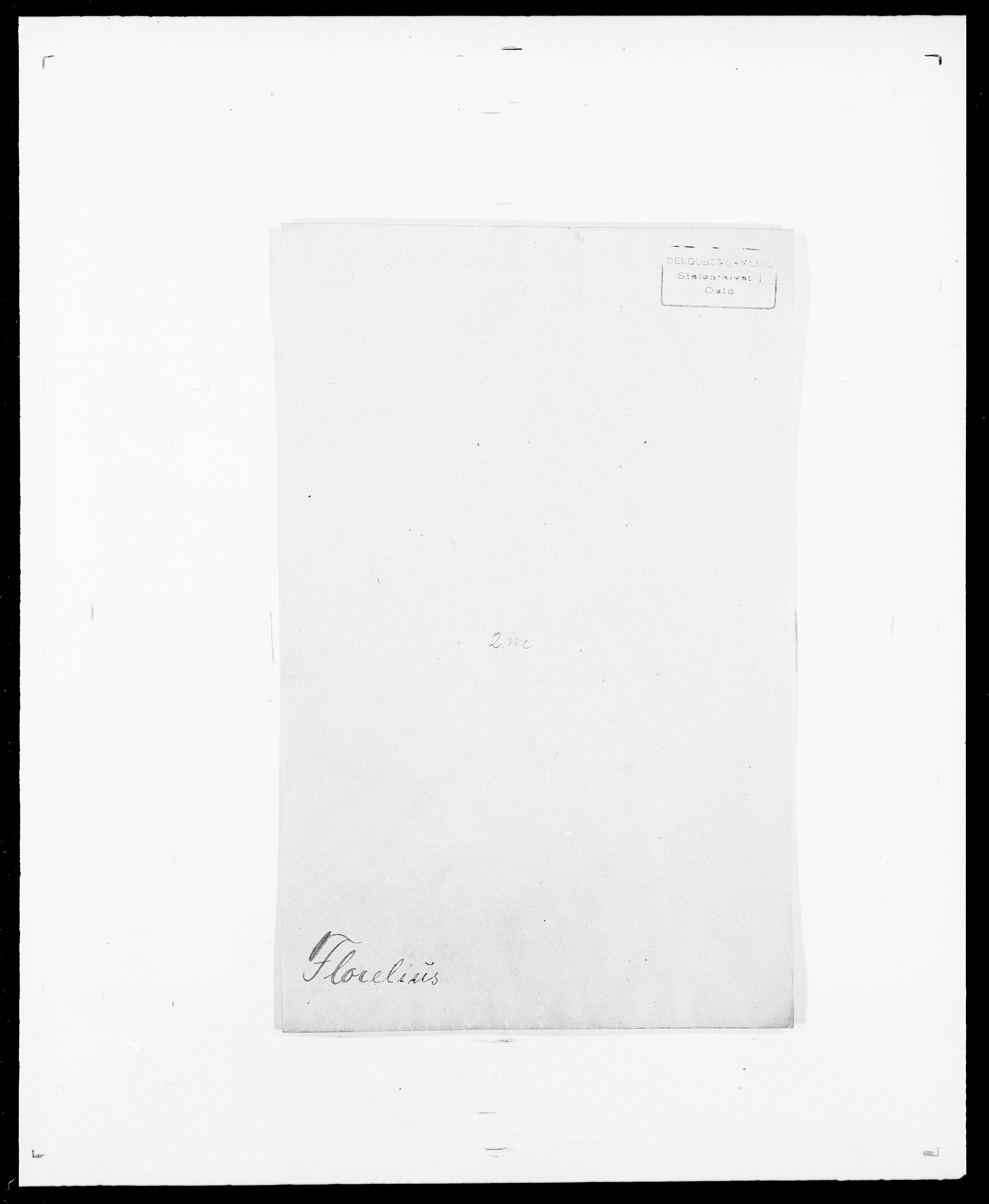 SAO, Delgobe, Charles Antoine - samling, D/Da/L0012: Flor, Floer, Flohr - Fritzner, s. 457