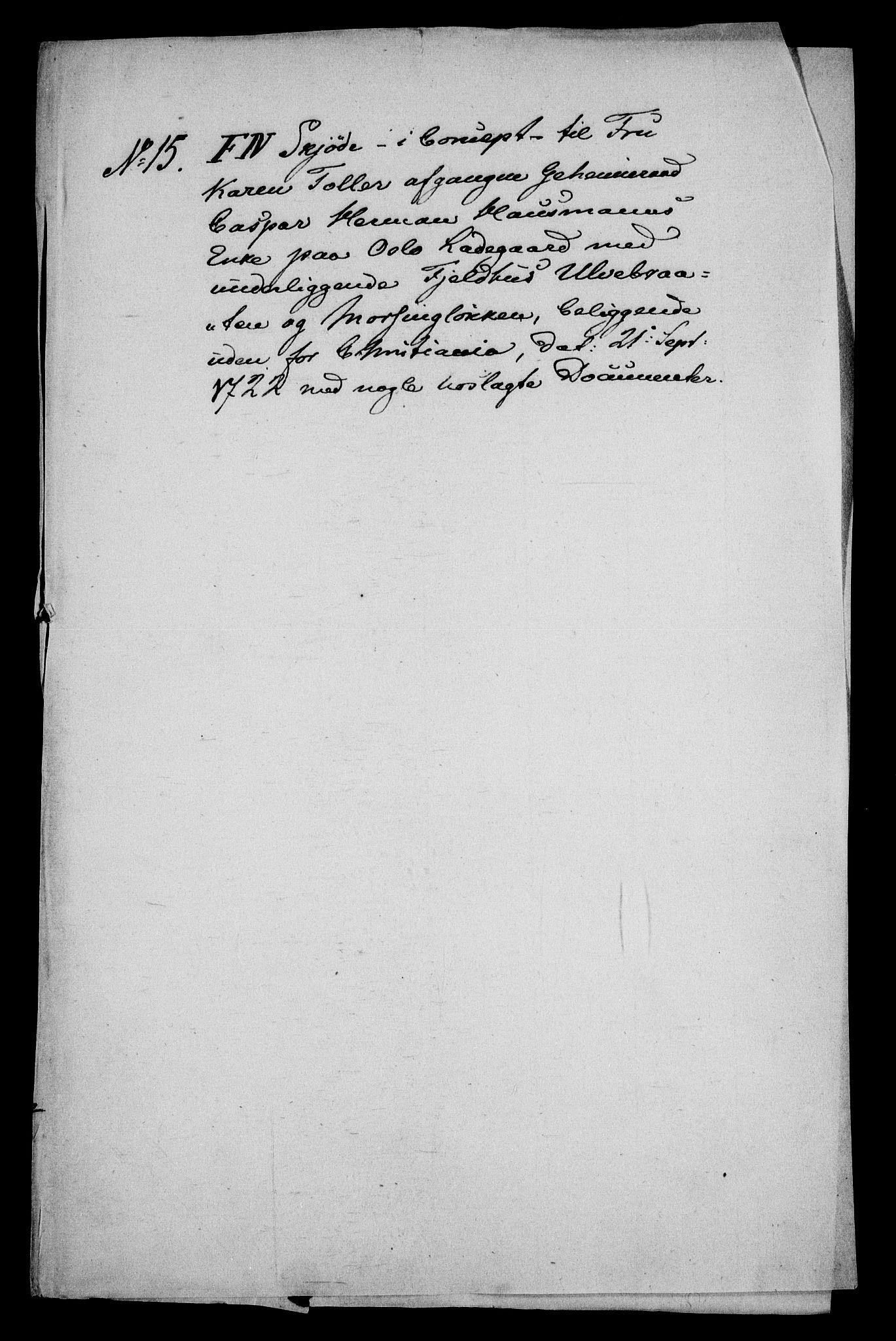 RA, Rentekammeret inntil 1814, Realistisk ordnet avdeling, On/L0013: [Jj 14]: Forskjellige dokumenter om krongodset i Norge, 1672-1722, s. 398