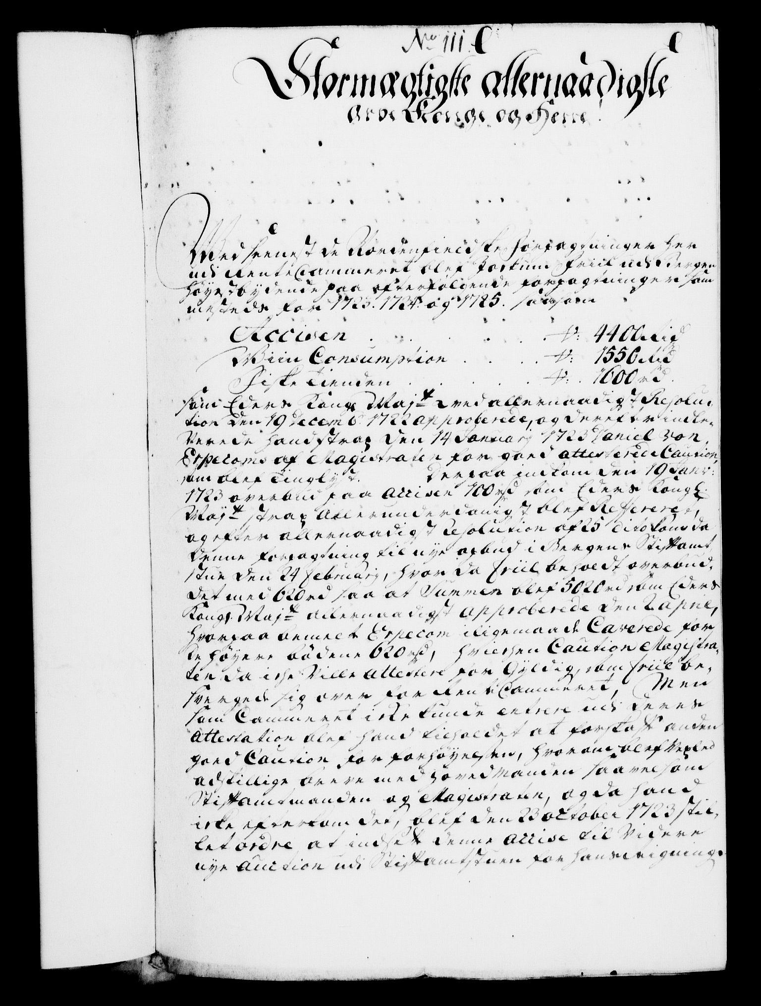 RA, Rentekammeret, Kammerkanselliet, G/Gf/Gfa/L0007: Norsk relasjons- og resolusjonsprotokoll (merket RK 52.7), 1724, s. 733