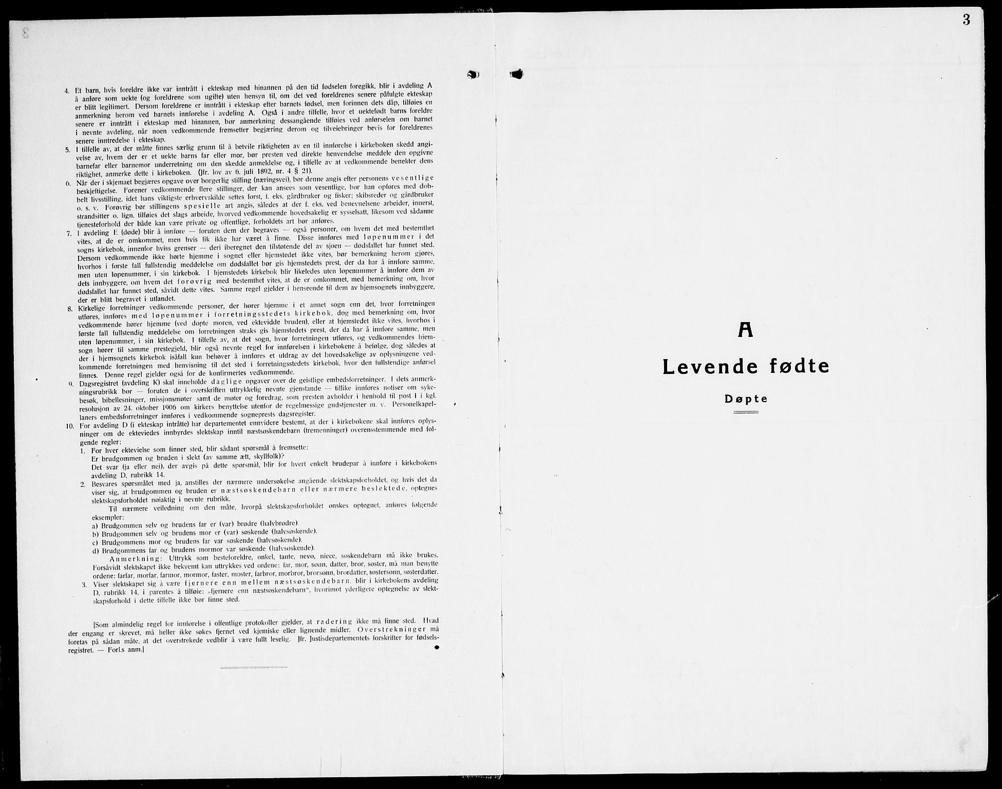 SAT, Ministerialprotokoller, klokkerbøker og fødselsregistre - Nord-Trøndelag, 741/L0403: Ministerialbok nr. 741C04, 1925-1944, s. 3
