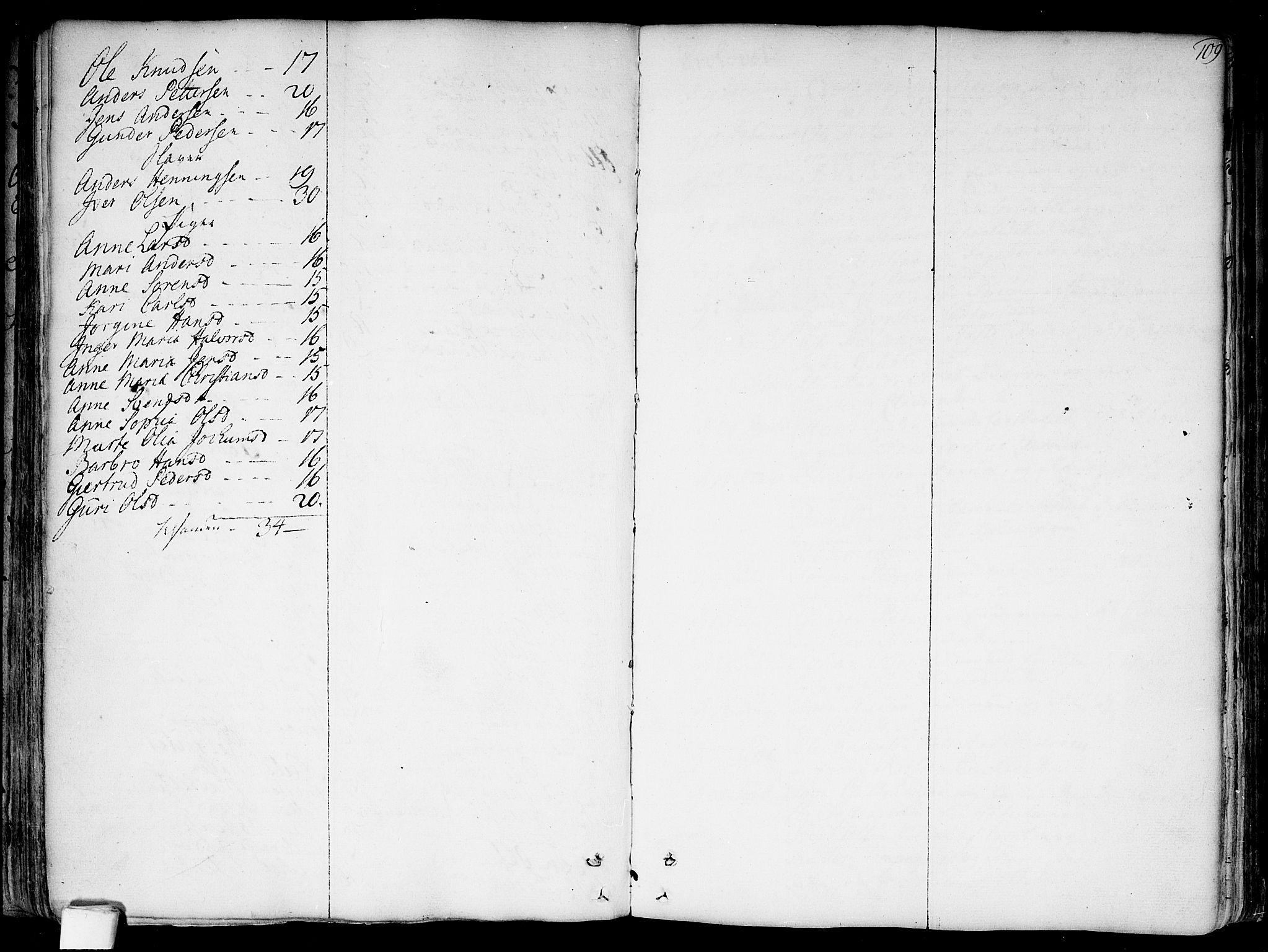 SAO, Garnisonsmenigheten Kirkebøker, F/Fa/L0002: Ministerialbok nr. 2, 1757-1776, s. 109