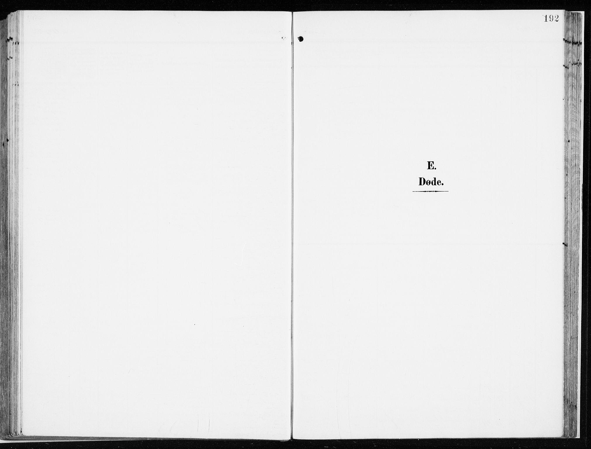 SAH, Løten prestekontor, K/Ka/L0011: Ministerialbok nr. 11, 1908-1917, s. 192