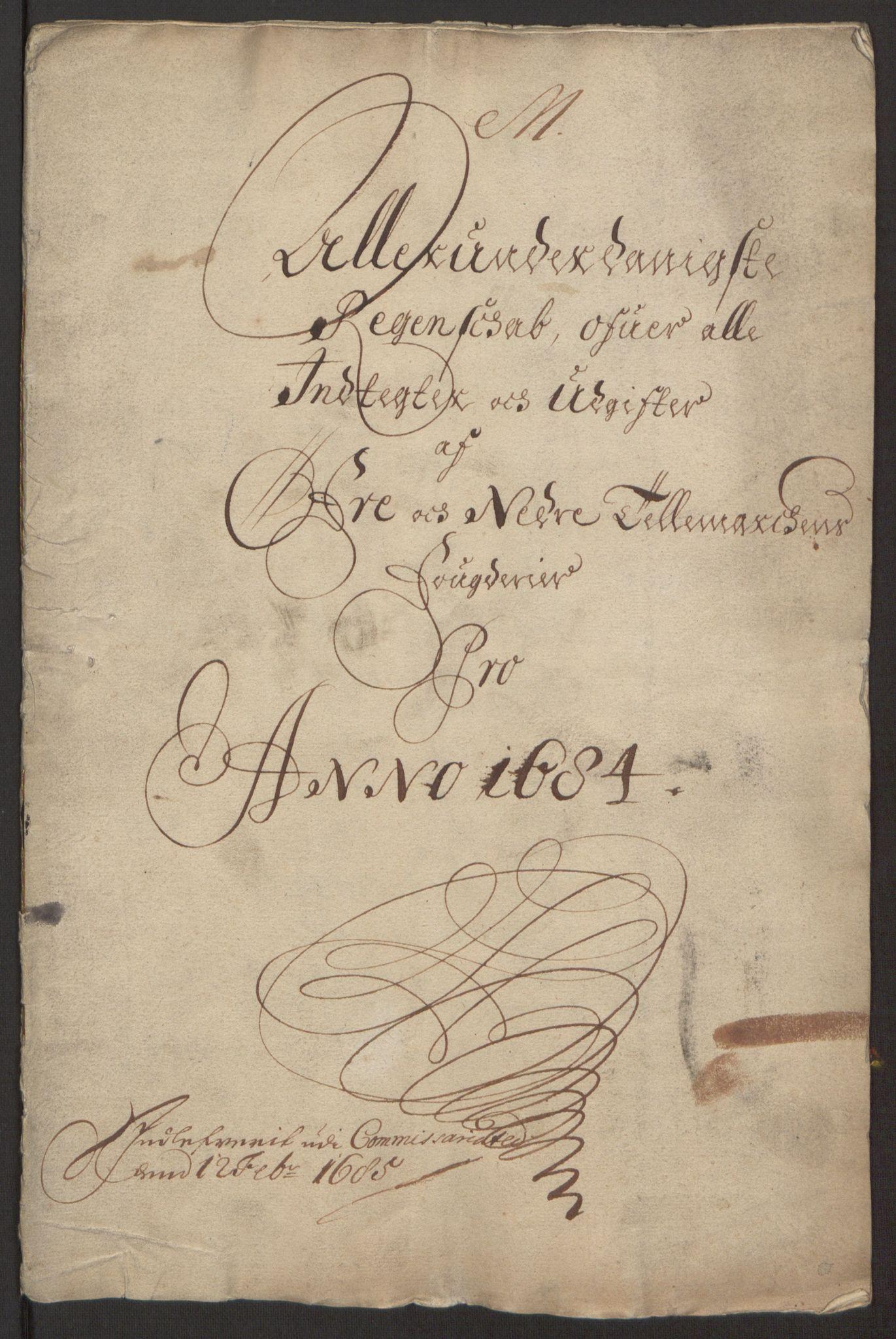 RA, Rentekammeret inntil 1814, Reviderte regnskaper, Fogderegnskap, R35/L2081: Fogderegnskap Øvre og Nedre Telemark, 1680-1684, s. 3