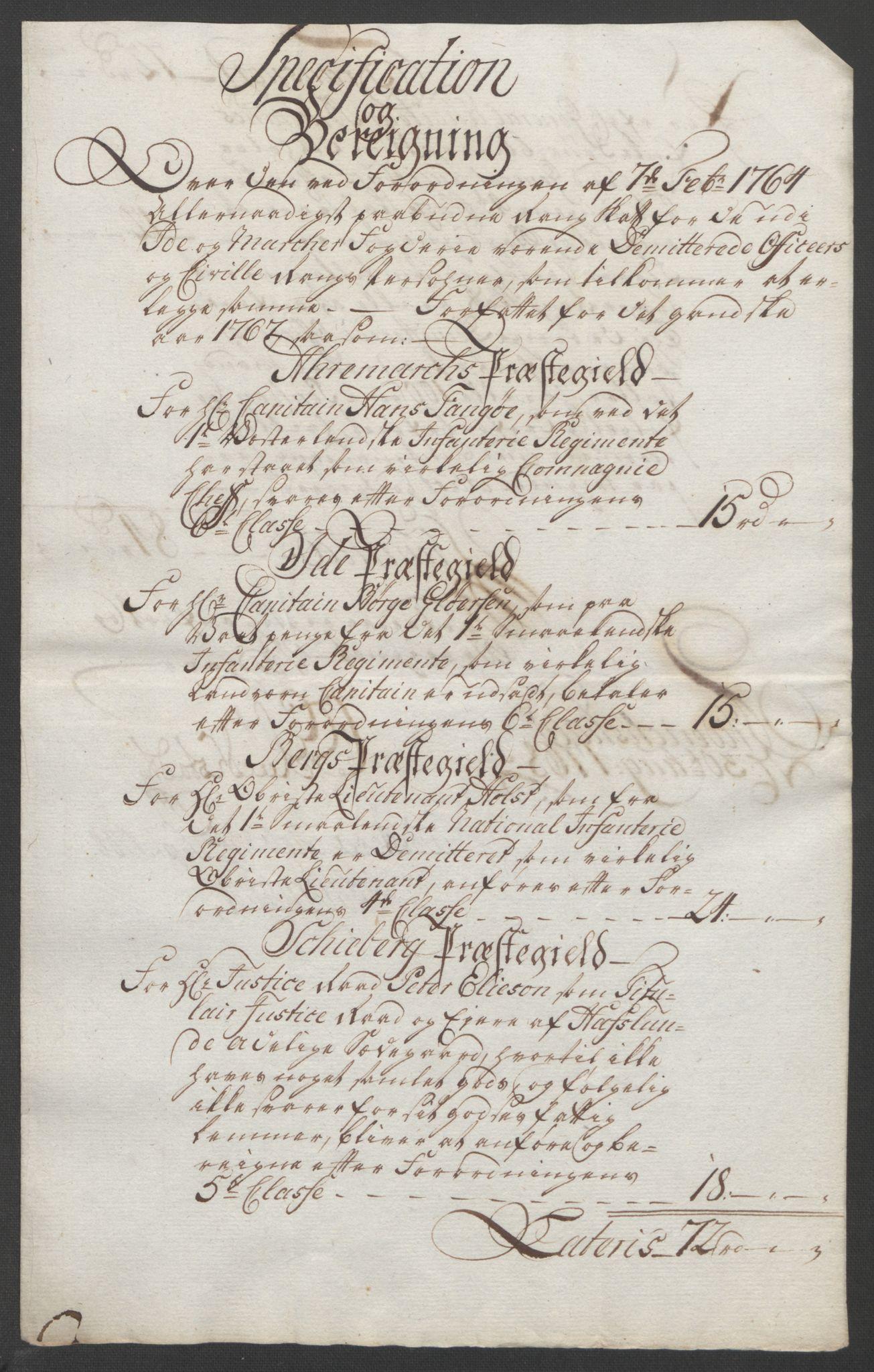 RA, Rentekammeret inntil 1814, Reviderte regnskaper, Fogderegnskap, R01/L0097: Ekstraskatten Idd og Marker, 1756-1767, s. 323