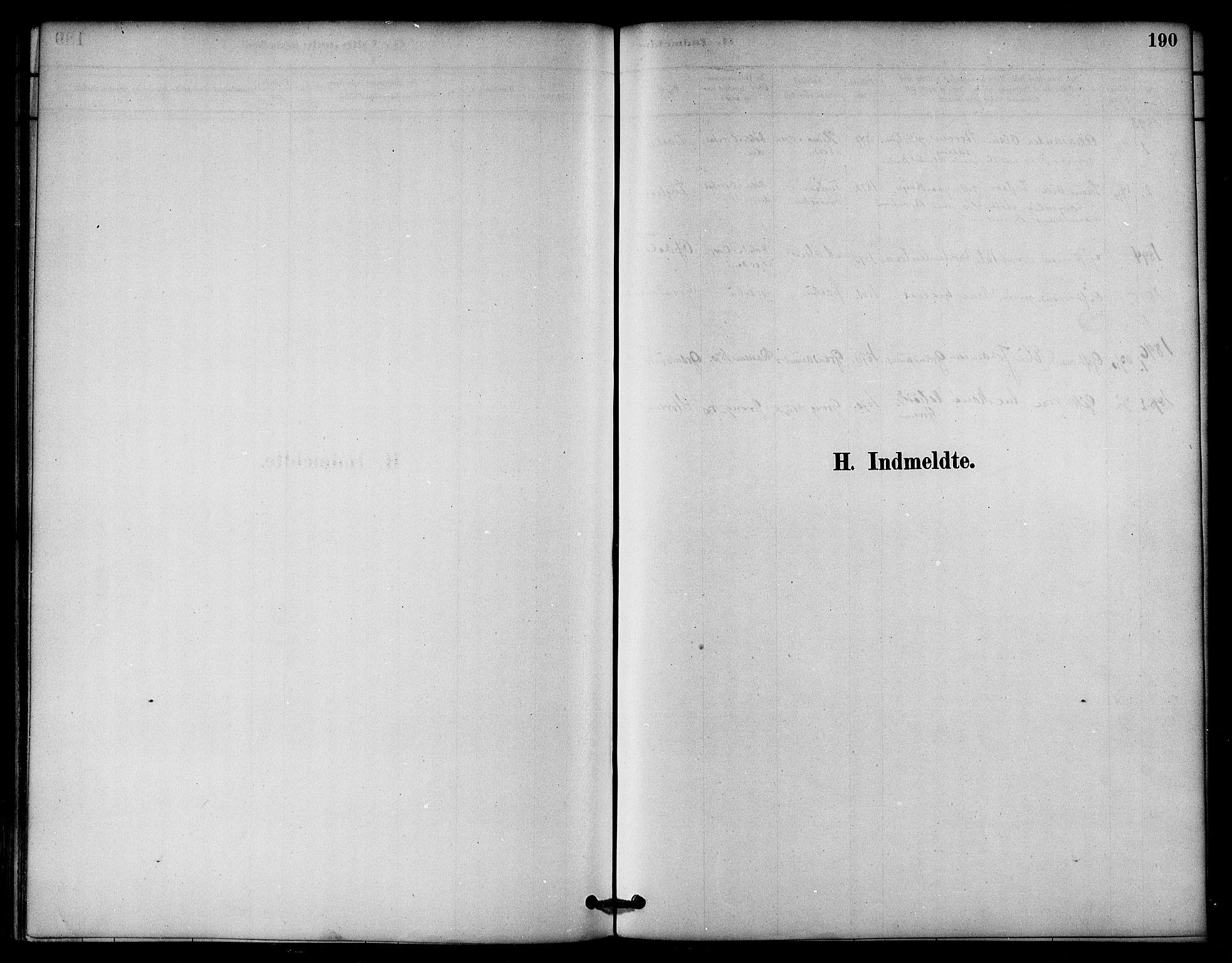 SAT, Ministerialprotokoller, klokkerbøker og fødselsregistre - Nord-Trøndelag, 764/L0555: Ministerialbok nr. 764A10, 1881-1896, s. 190