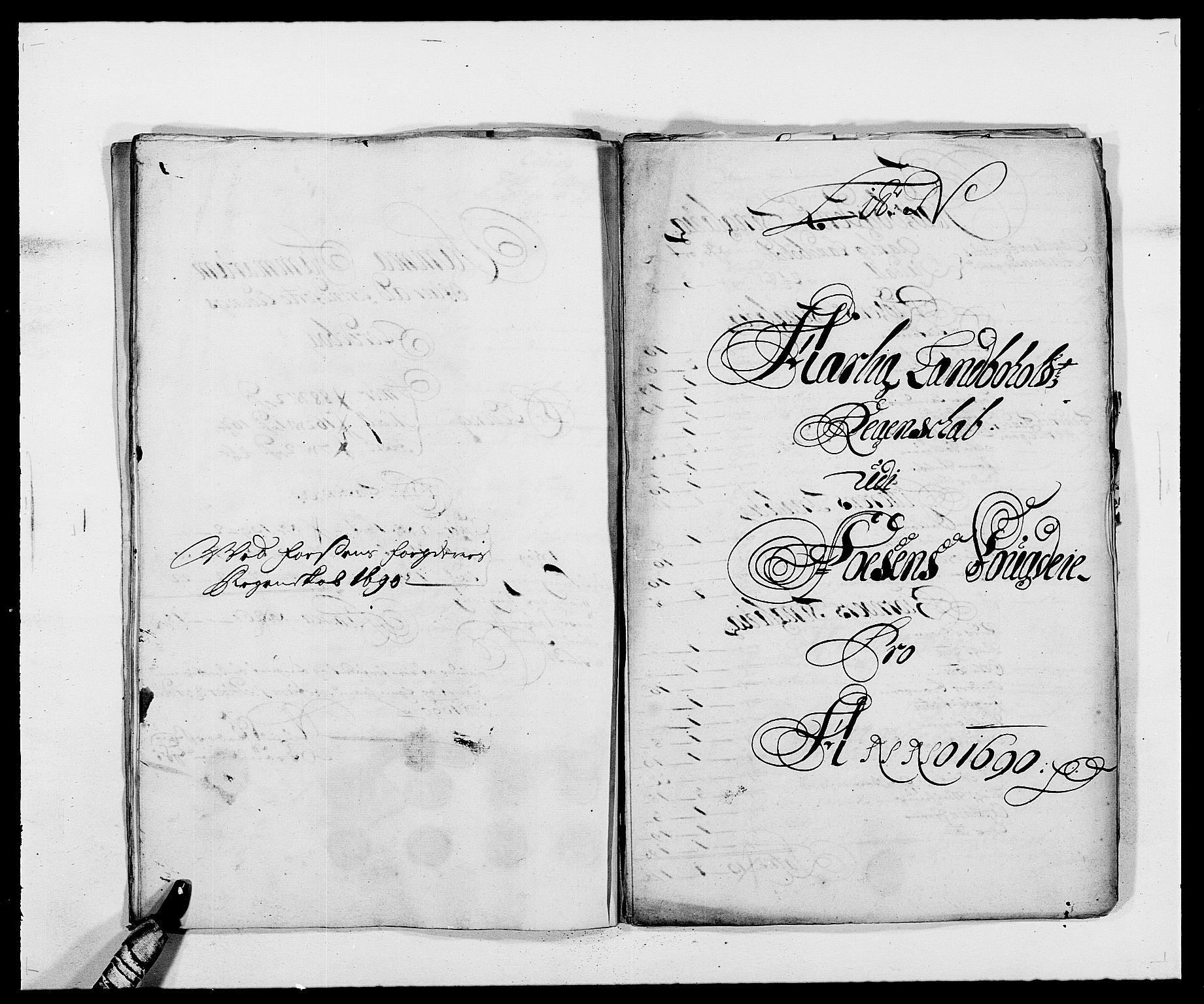 RA, Rentekammeret inntil 1814, Reviderte regnskaper, Fogderegnskap, R57/L3848: Fogderegnskap Fosen, 1690-1691, s. 179