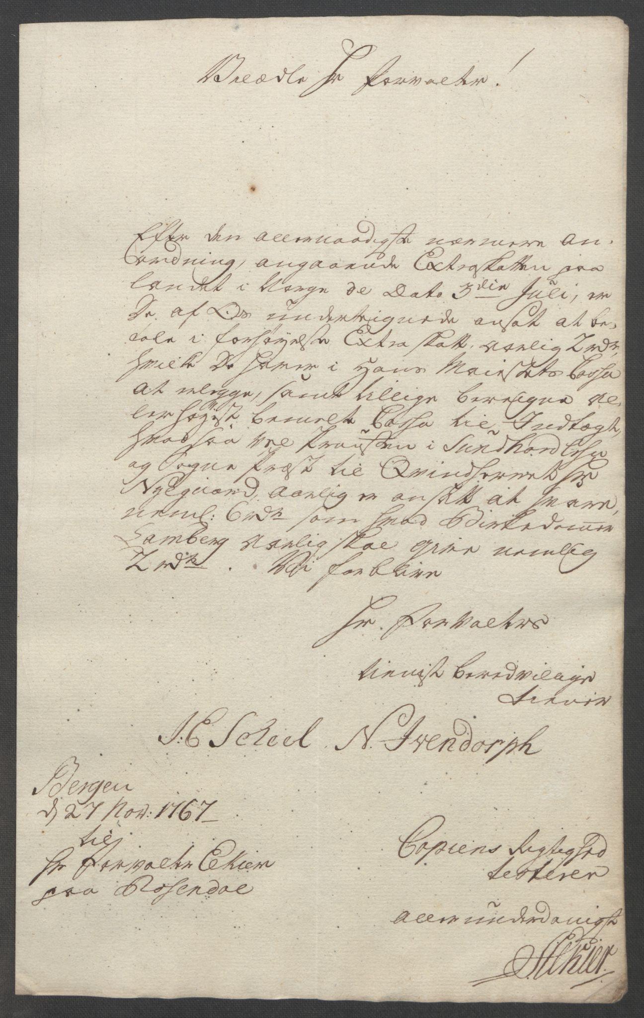 RA, Rentekammeret inntil 1814, Reviderte regnskaper, Fogderegnskap, R49/L3157: Ekstraskatten Rosendal Baroni, 1762-1772, s. 230