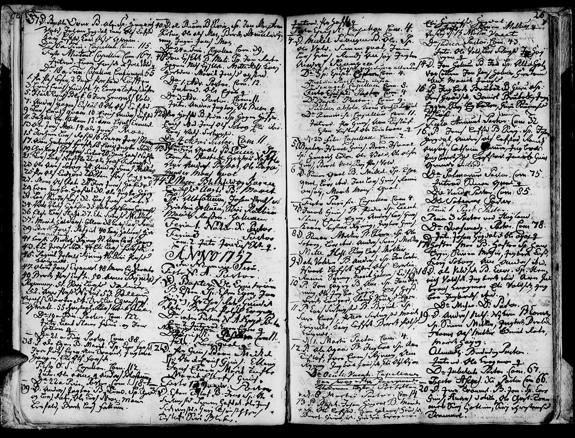SAT, Ministerialprotokoller, klokkerbøker og fødselsregistre - Sør-Trøndelag, 691/L1057: Ministerialbok nr. 691A01 /1, 1740-1767, s. 26