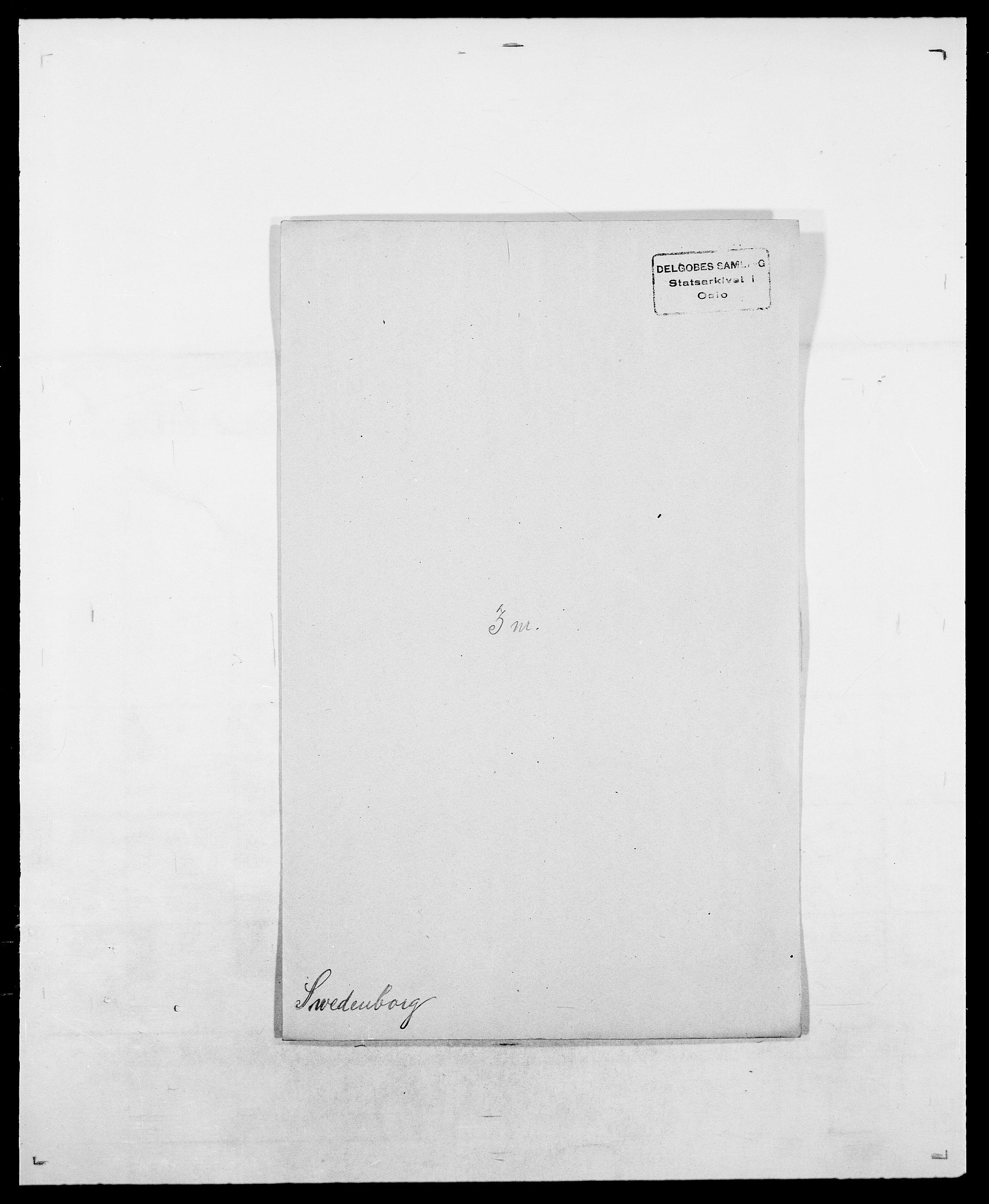 SAO, Delgobe, Charles Antoine - samling, D/Da/L0038: Svanenskjold - Thornsohn, s. 72