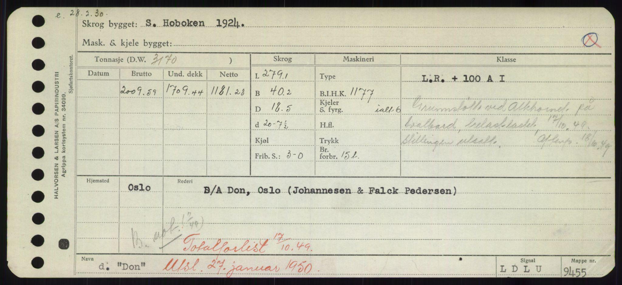RA, Sjøfartsdirektoratet med forløpere, Skipsmålingen, H/Hd/L0008: Fartøy, C-D, s. 573