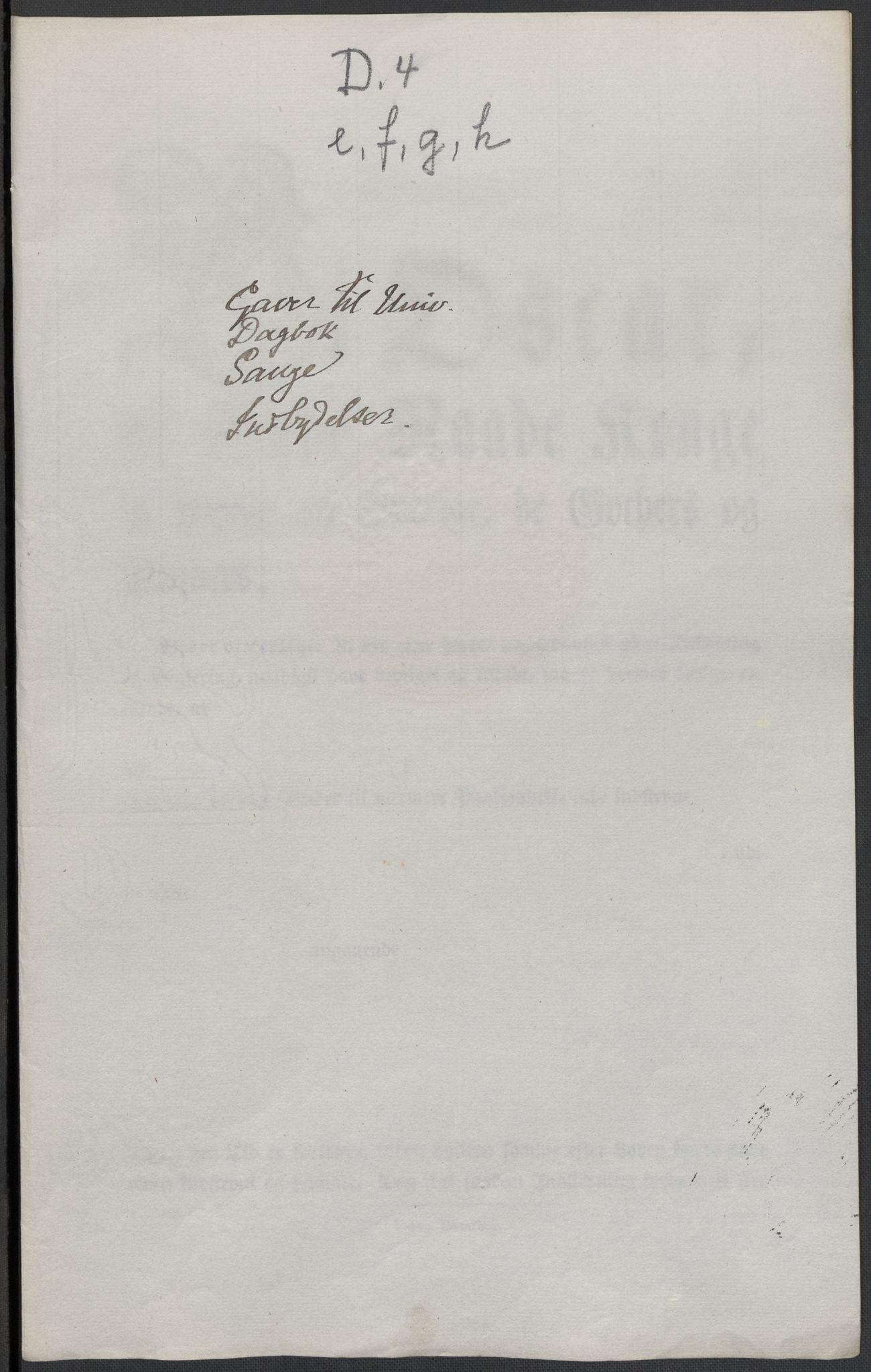 RA, Christie, Wilhelm Frimann Koren, F/L0004, 1814, s. 264