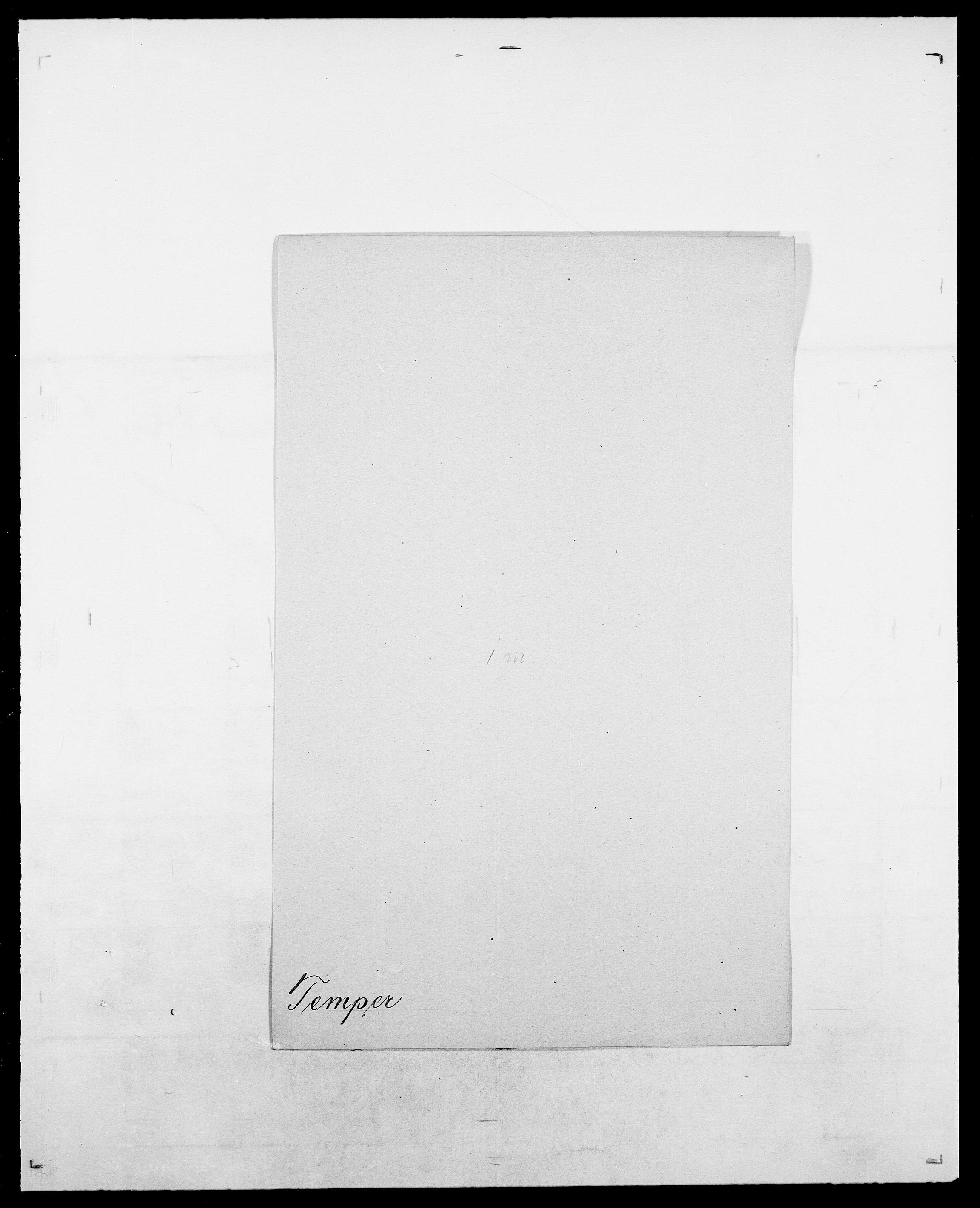SAO, Delgobe, Charles Antoine - samling, D/Da/L0038: Svanenskjold - Thornsohn, s. 401