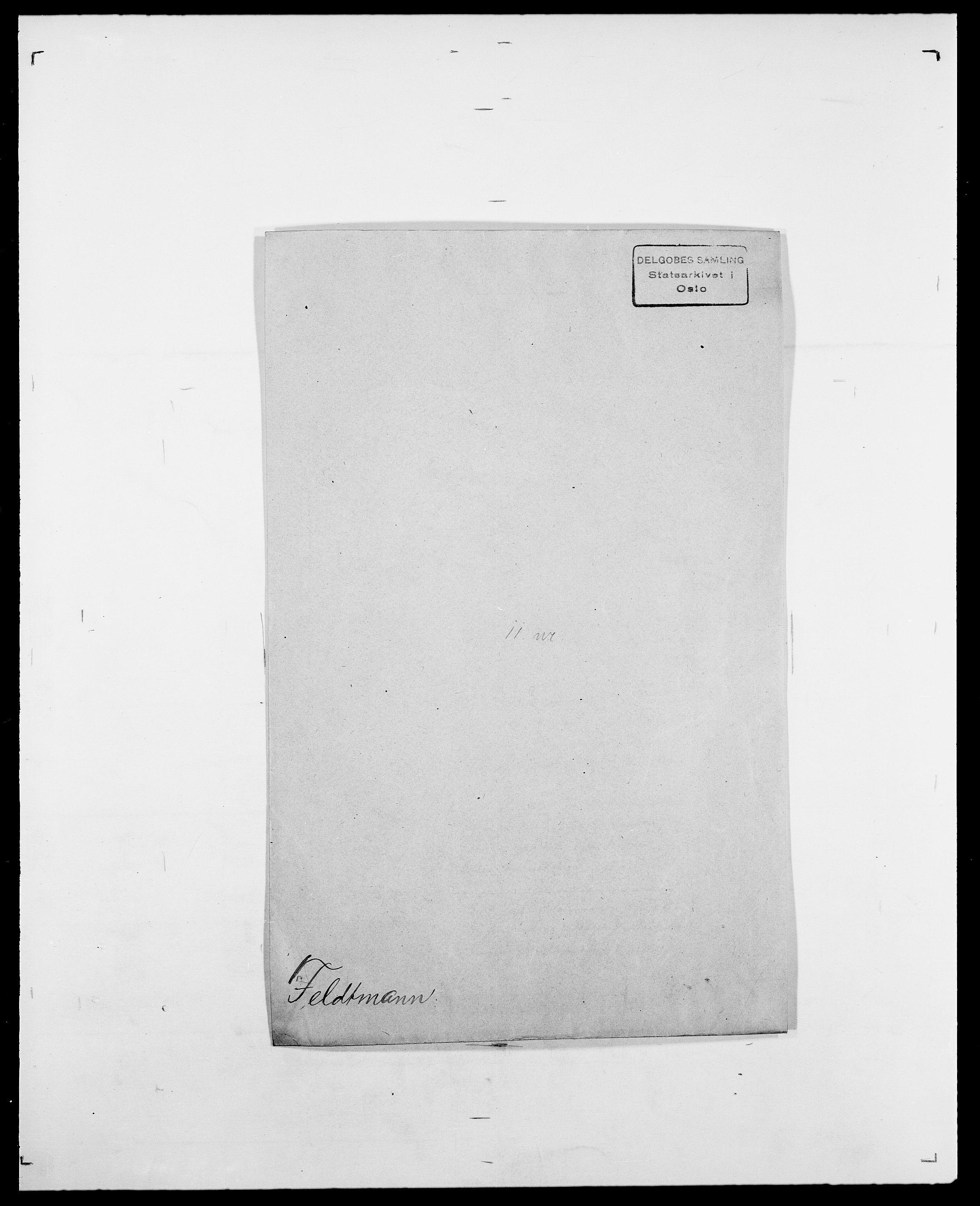 SAO, Delgobe, Charles Antoine - samling, D/Da/L0011: Fahlander - Flood, Flod, s. 326