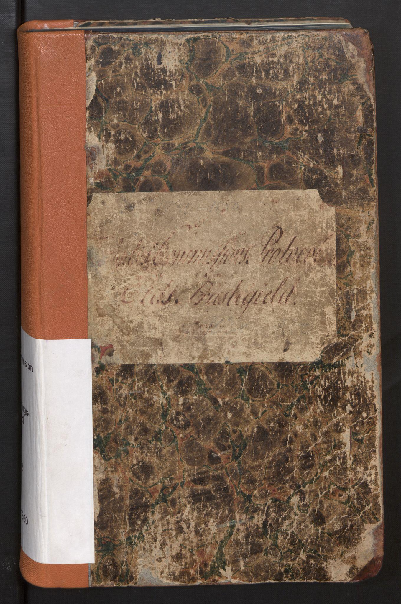 SAB, Eid (og Davik) forliksråd, A/L0002: Forhandlingsprotokoll, 1830-1850