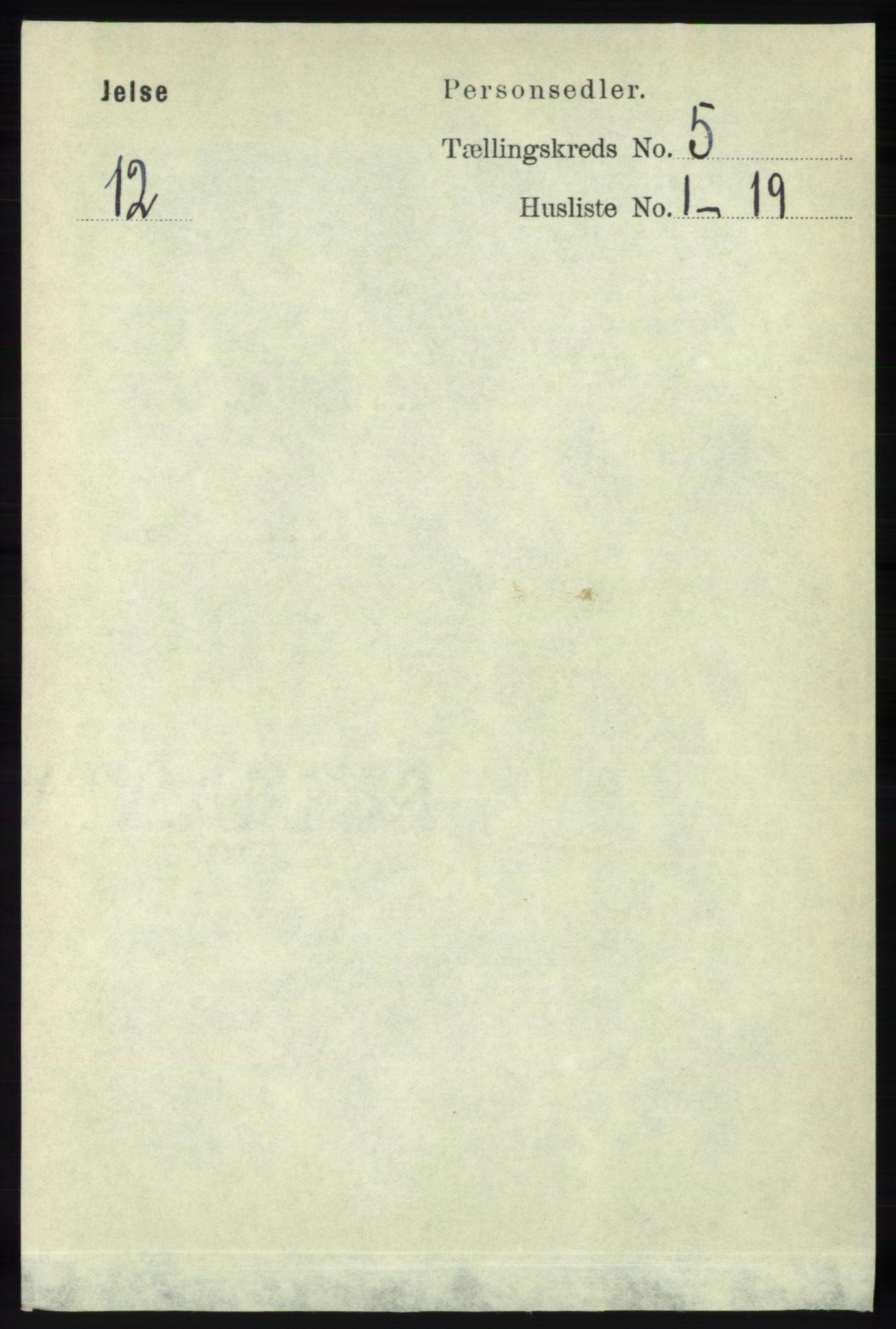 RA, Folketelling 1891 for 1138 Jelsa herred, 1891, s. 1062