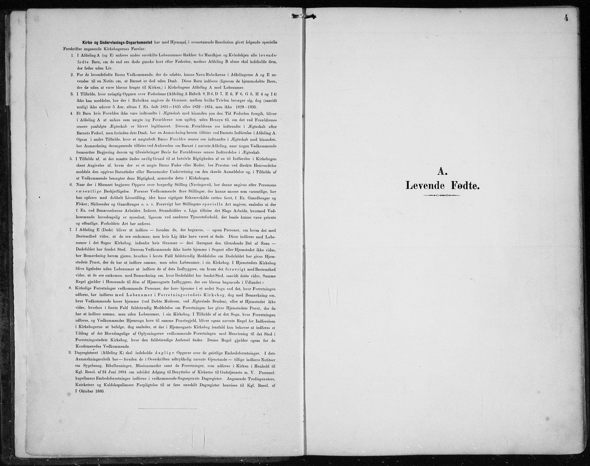 SAB, Askøy Sokneprestembete, H/Ha/Haa/Haae/L0003: Ministerialbok nr. E 3, 1891-1903, s. 4