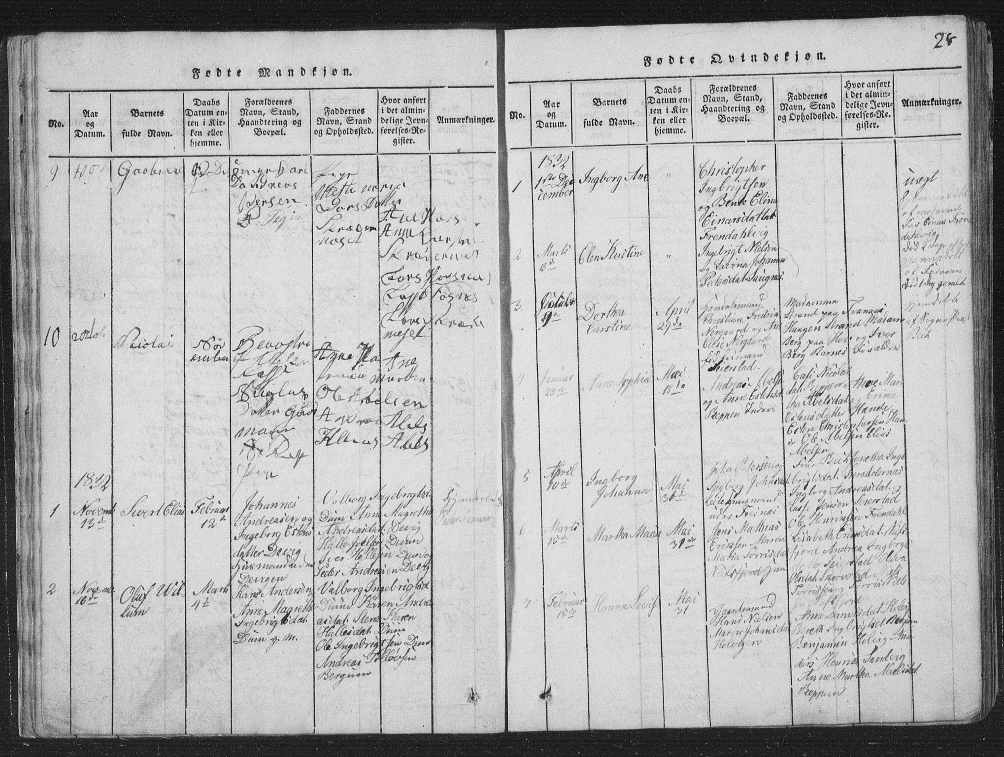 SAT, Ministerialprotokoller, klokkerbøker og fødselsregistre - Nord-Trøndelag, 773/L0613: Ministerialbok nr. 773A04, 1815-1845, s. 28