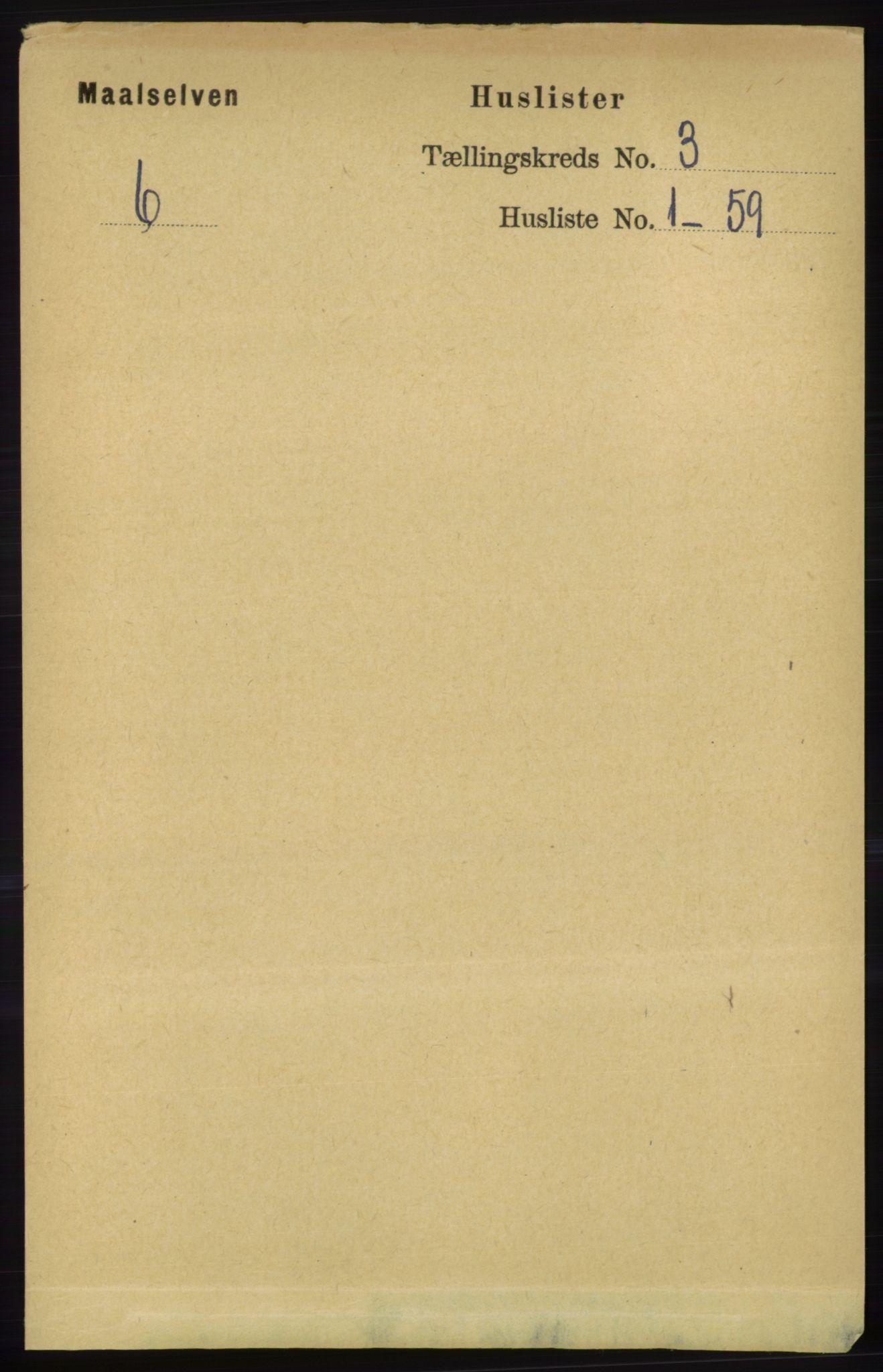 RA, Folketelling 1891 for 1924 Målselv herred, 1891, s. 527