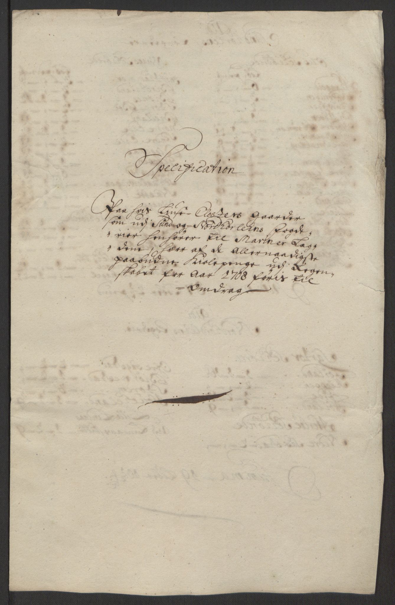 RA, Rentekammeret inntil 1814, Reviderte regnskaper, Fogderegnskap, R50/L3159: Fogderegnskap Lyse kloster, 1691-1709, s. 288