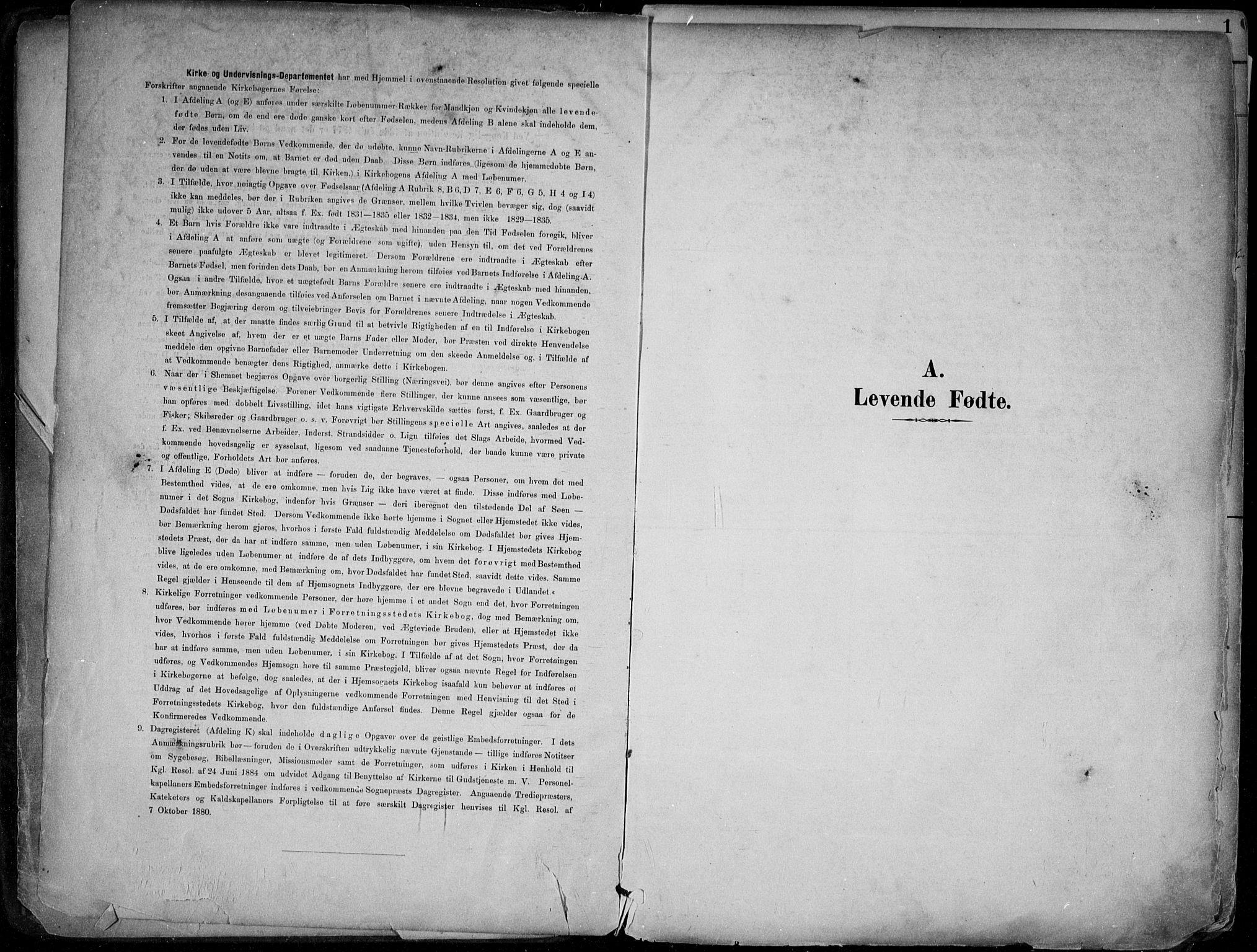 SAKO, Skien kirkebøker, F/Fa/L0010: Ministerialbok nr. 10, 1891-1899