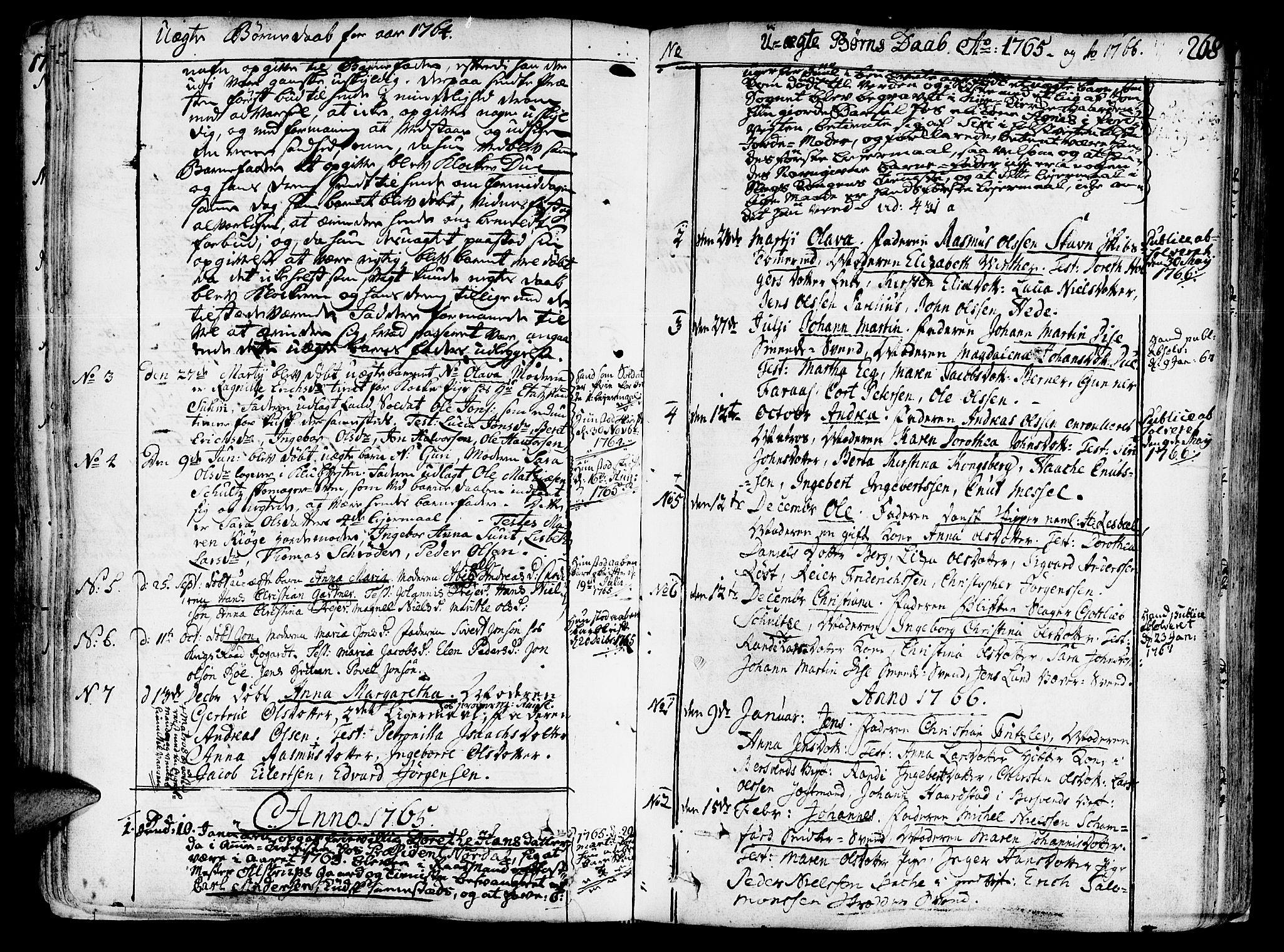 SAT, Ministerialprotokoller, klokkerbøker og fødselsregistre - Sør-Trøndelag, 602/L0103: Ministerialbok nr. 602A01, 1732-1774, s. 268