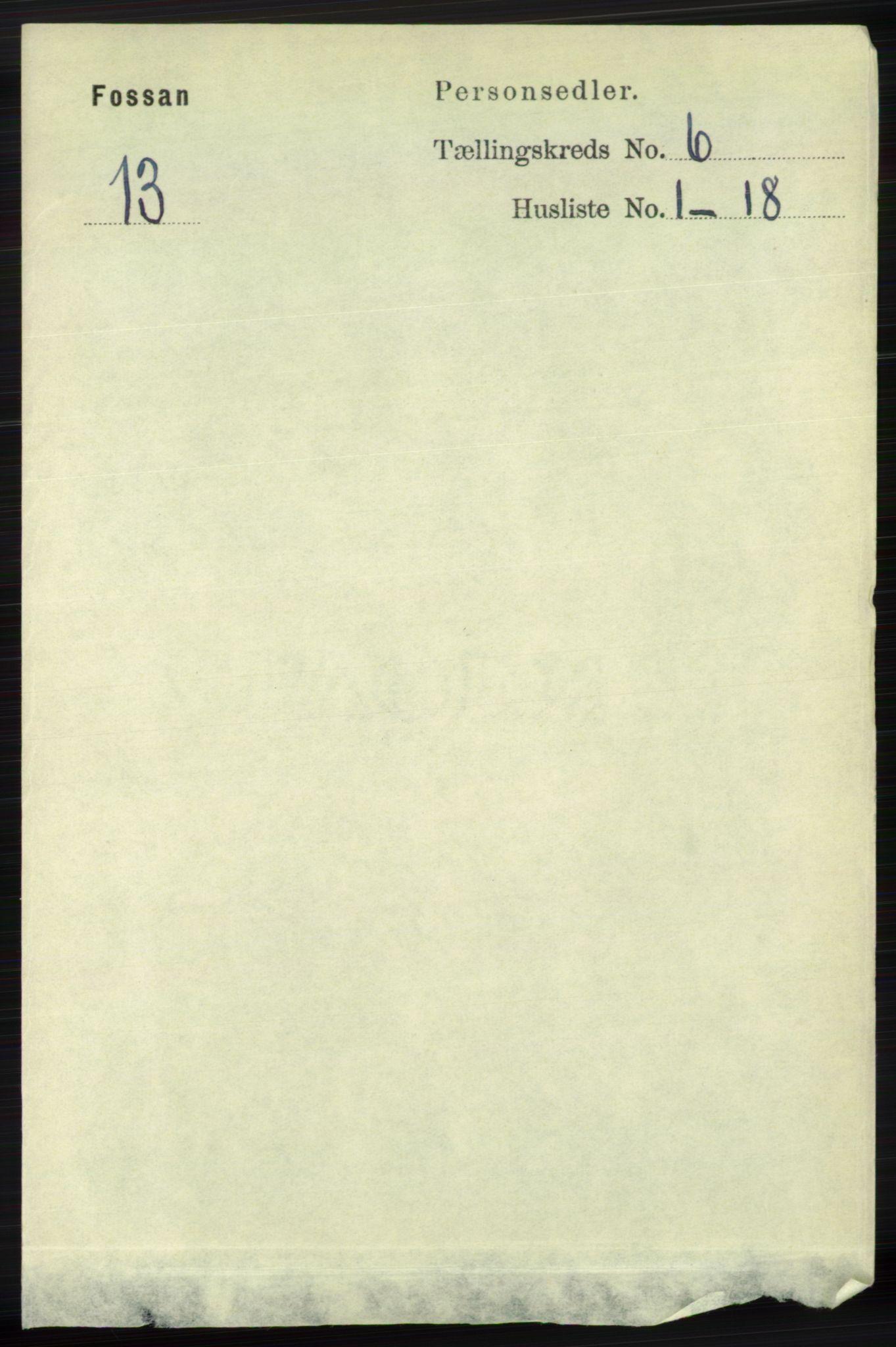 RA, Folketelling 1891 for 1129 Forsand herred, 1891, s. 941