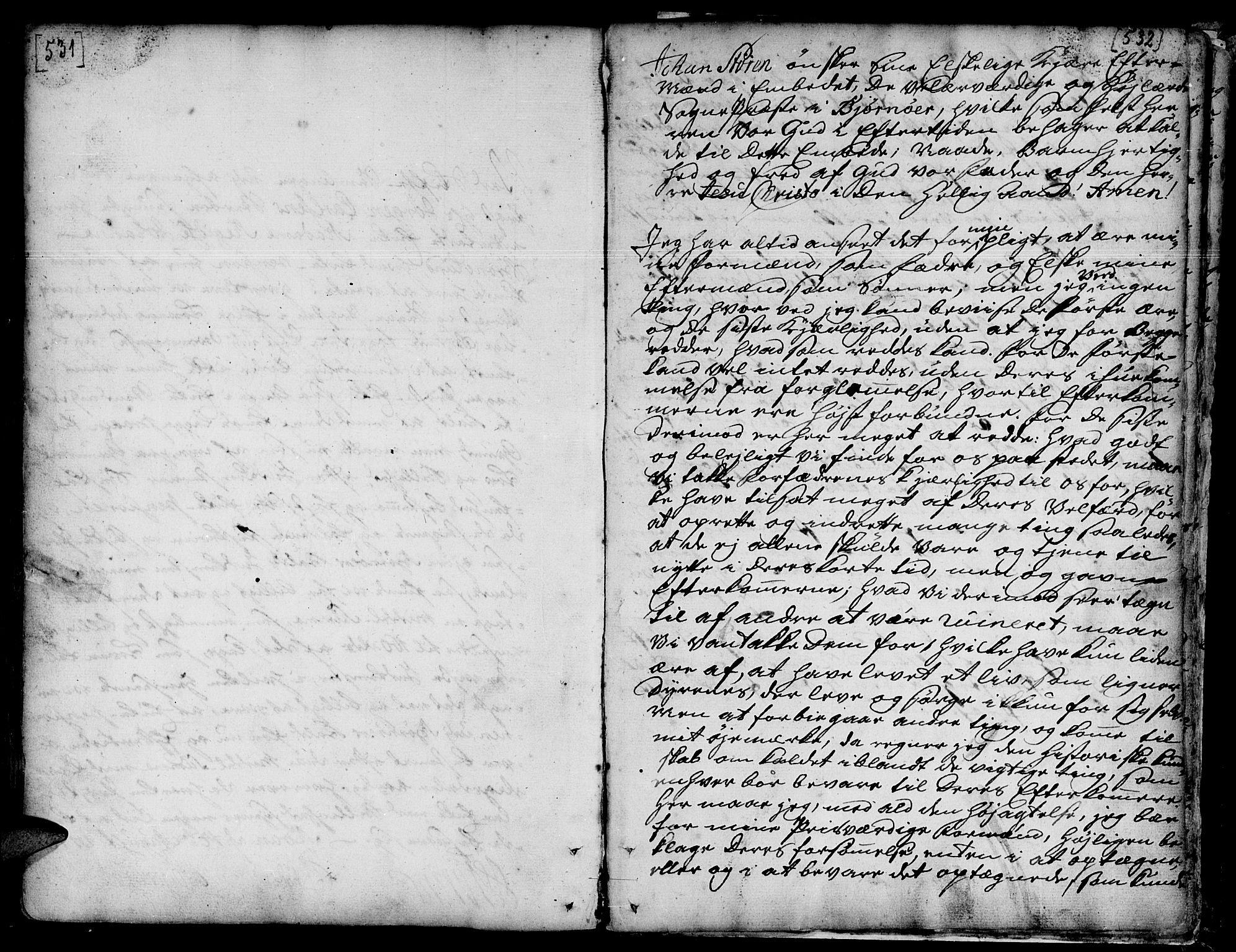 SAT, Ministerialprotokoller, klokkerbøker og fødselsregistre - Sør-Trøndelag, 657/L0700: Ministerialbok nr. 657A01, 1732-1801, s. 531-532